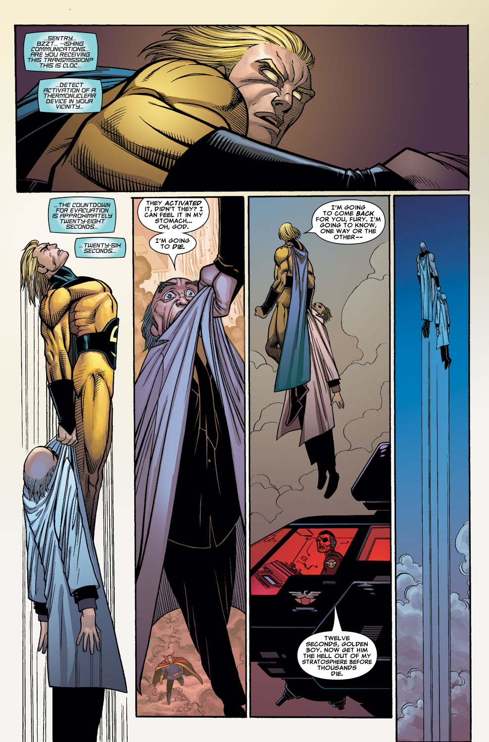 Read online Sentry (2006) comic -  Issue #7 - 21