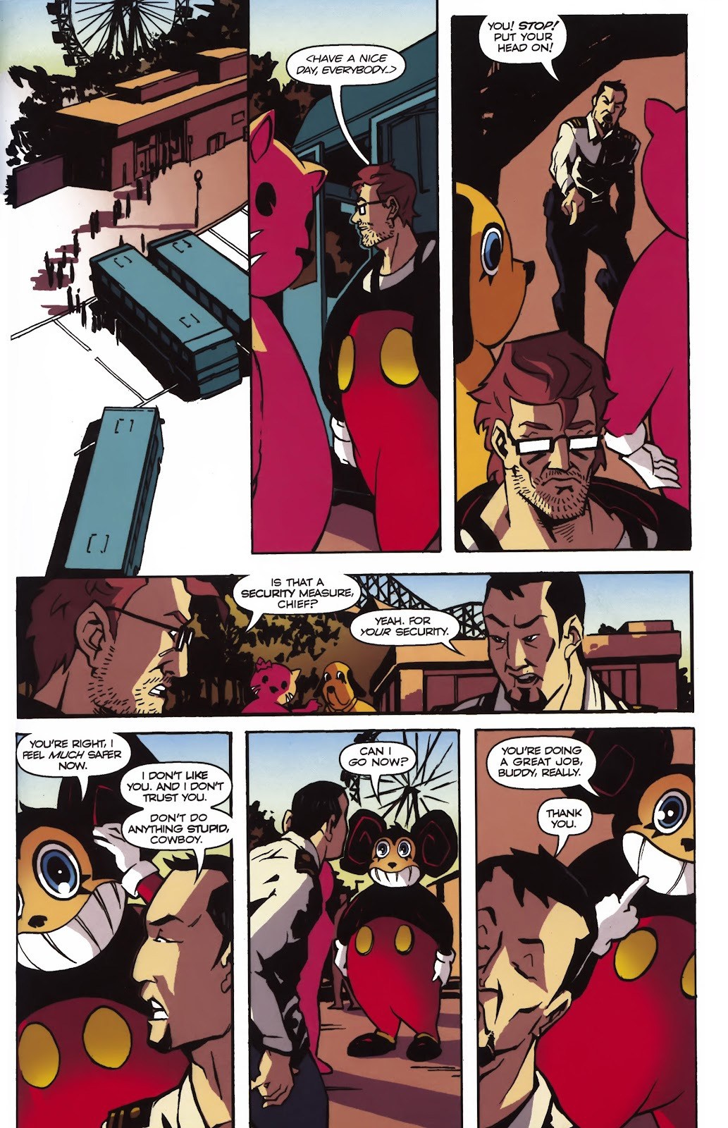 Read online Ricky Rouse Has A Gun comic -  Issue # TPB (Part 1) - 42