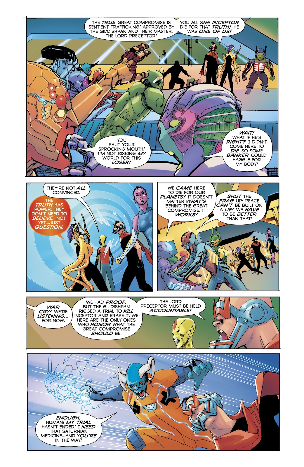 Read online Electric Warriors comic -  Issue #5 - 10