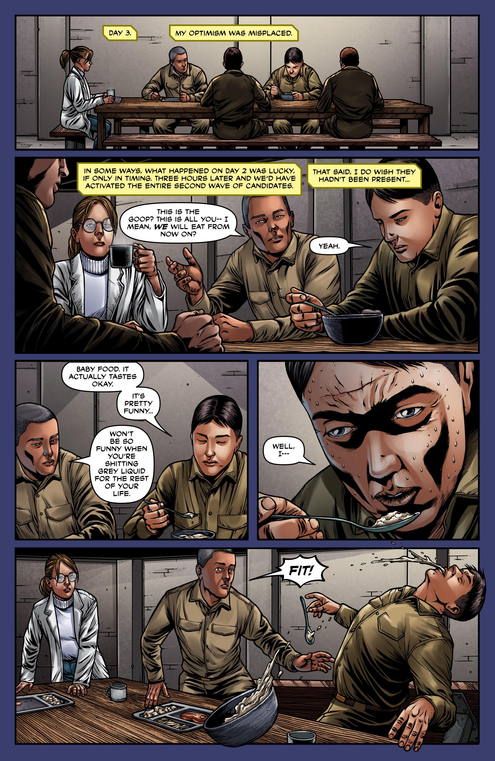 Read online Uber: Invasion comic -  Issue #5 - 14