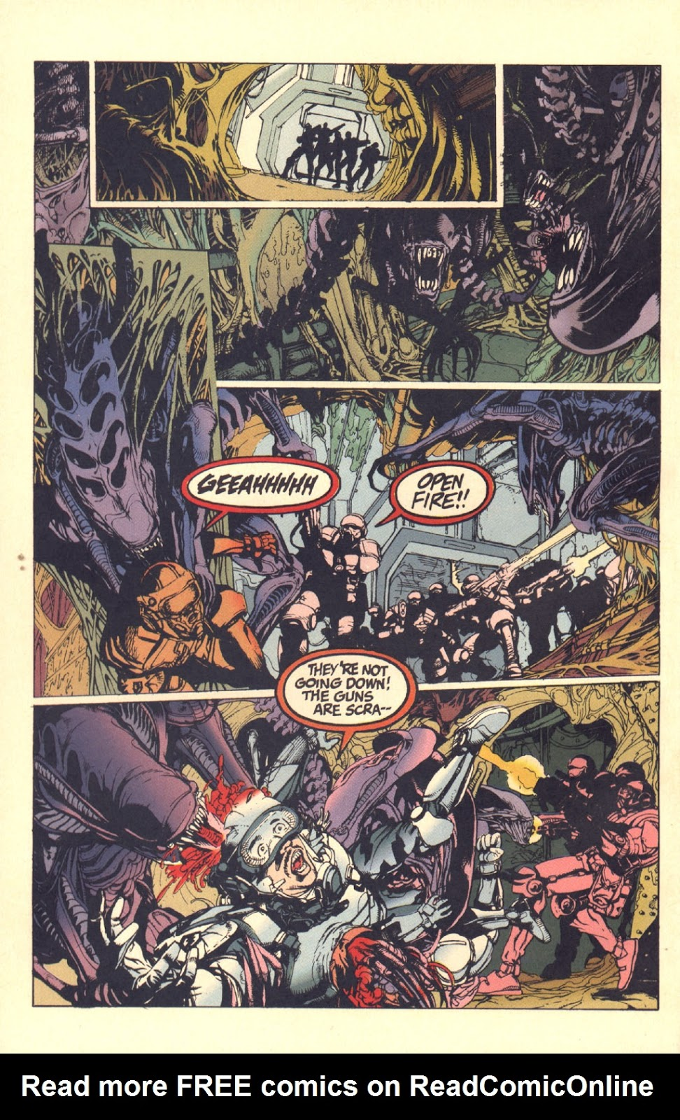 Read online Aliens: Rogue comic -  Issue #2 - 21