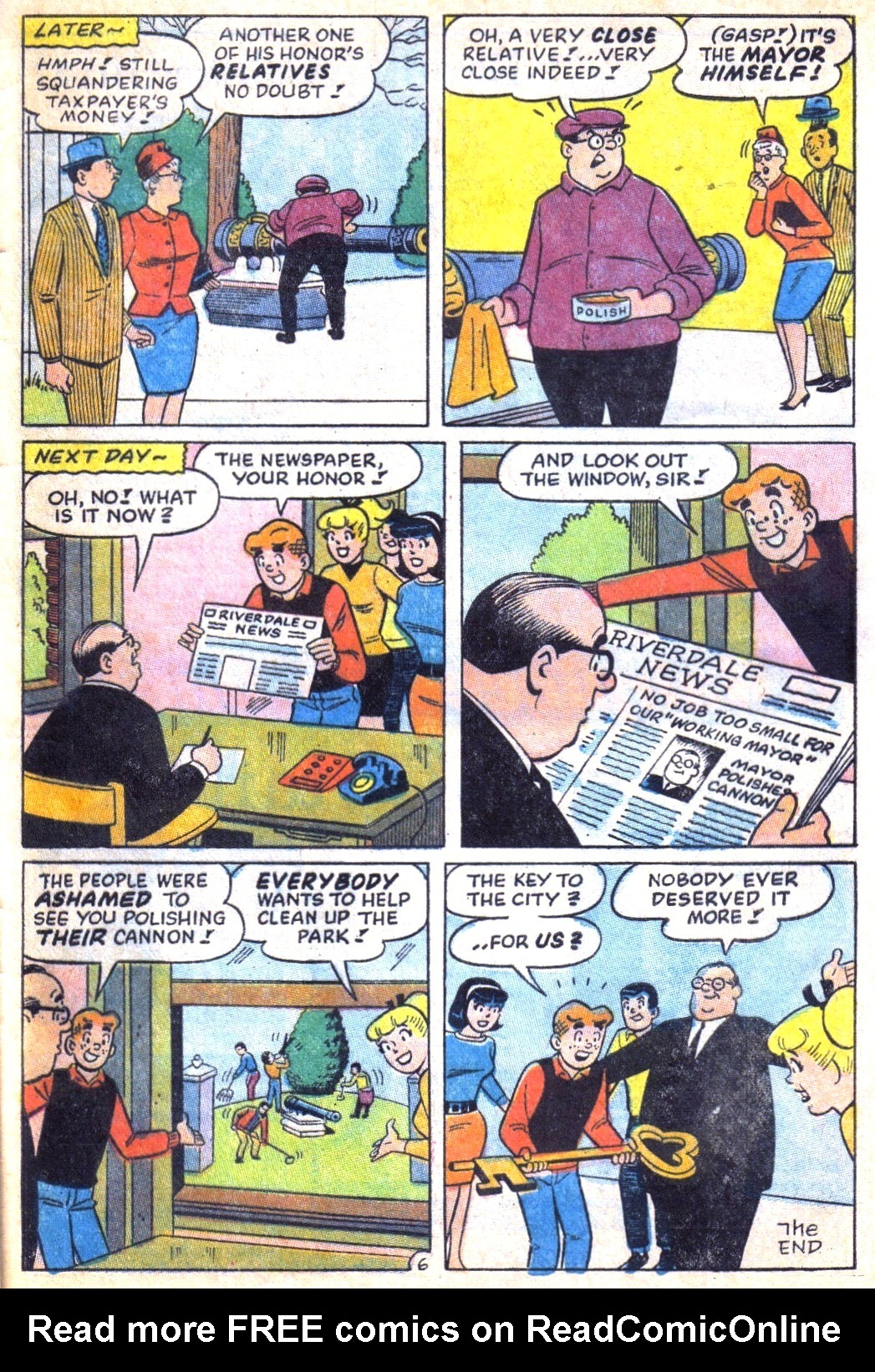 Read online Archie (1960) comic -  Issue #171 - 33