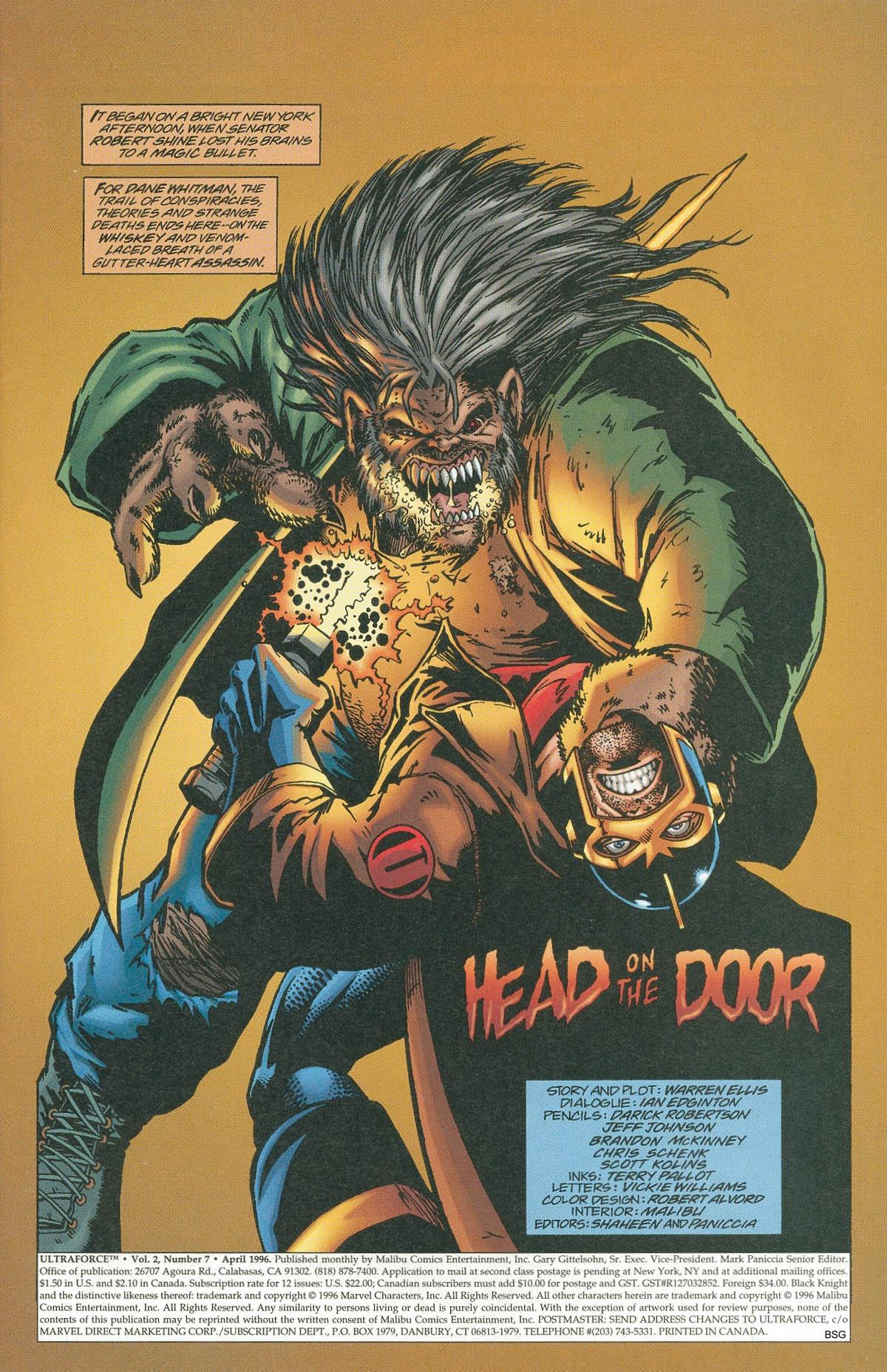 Read online UltraForce (1995) comic -  Issue #7 - 3