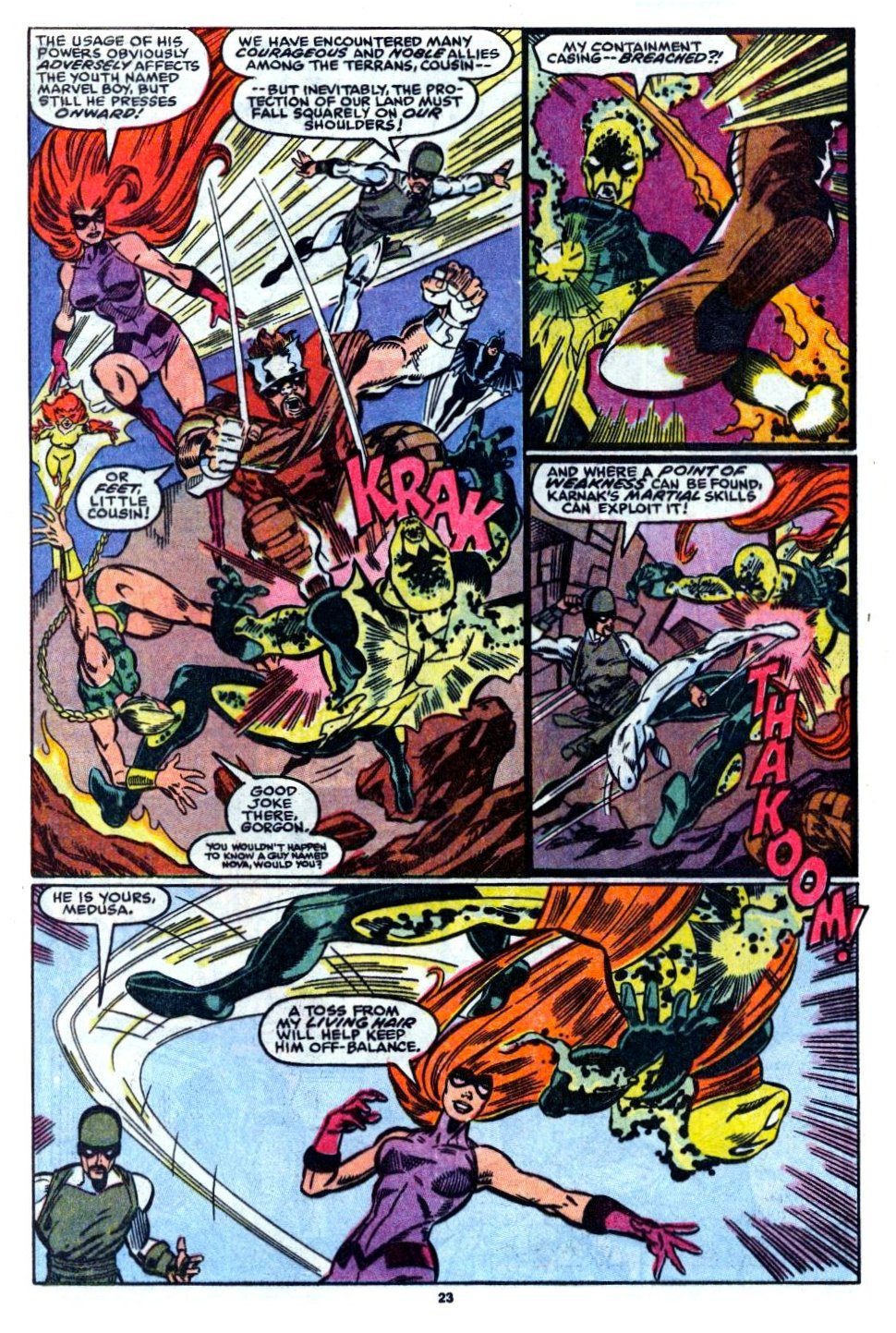 The New Warriors Issue #6 #10 - English 17