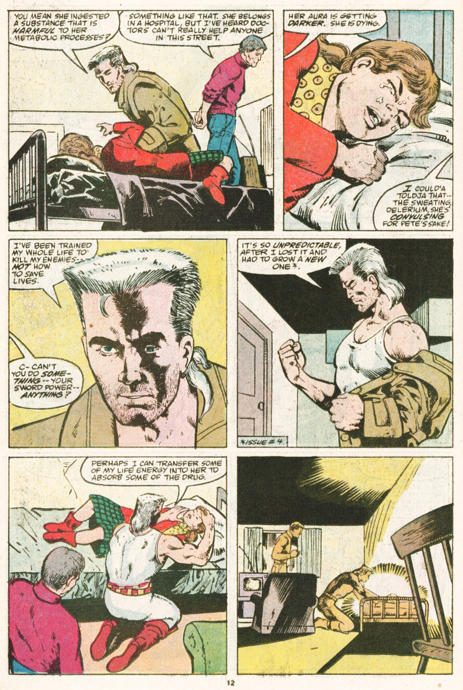 Read online Justice (1986) comic -  Issue #6 - 13