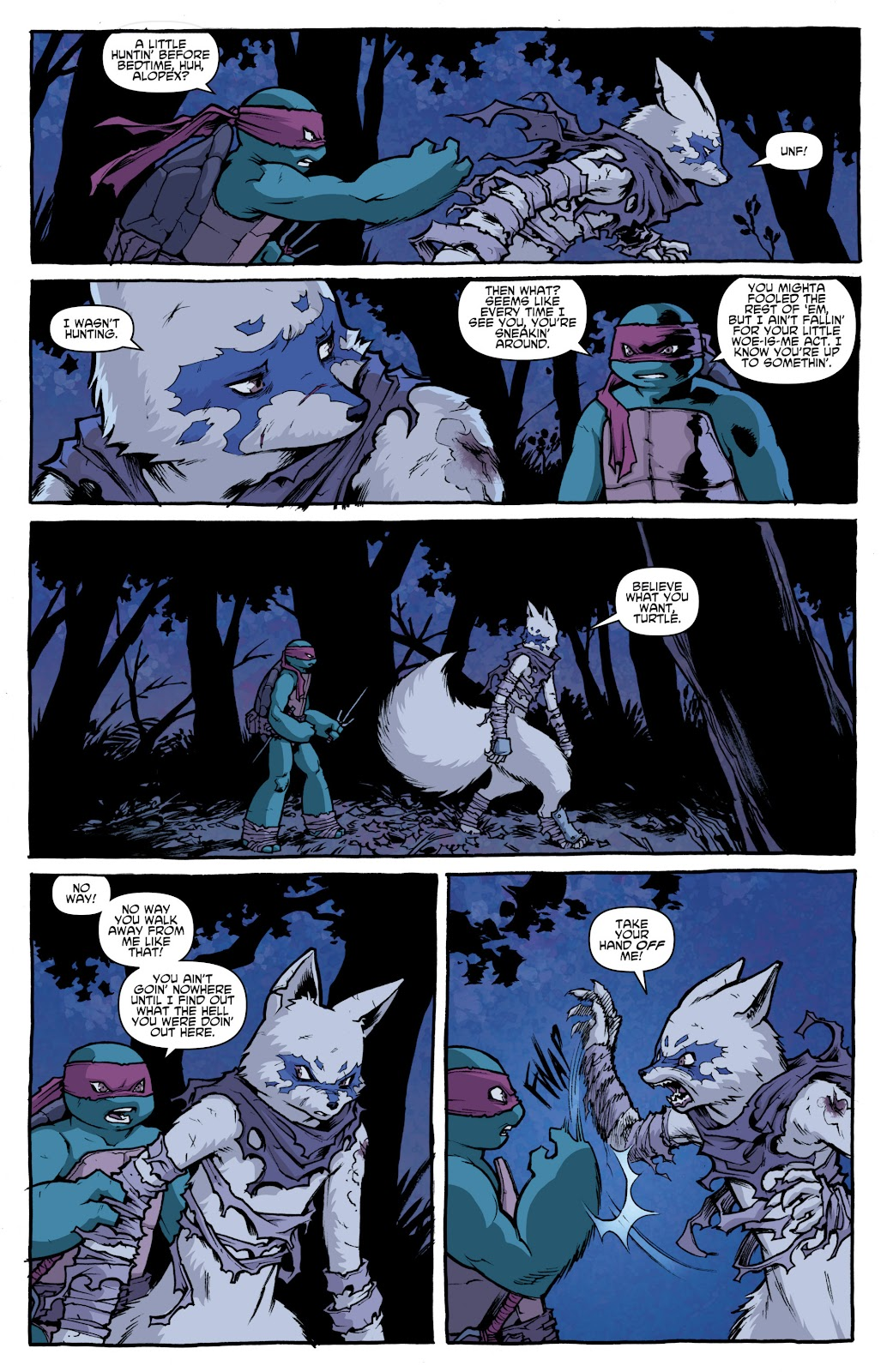 Read online Teenage Mutant Ninja Turtles: The IDW Collection comic -  Issue # TPB 4 (Part 1) - 56