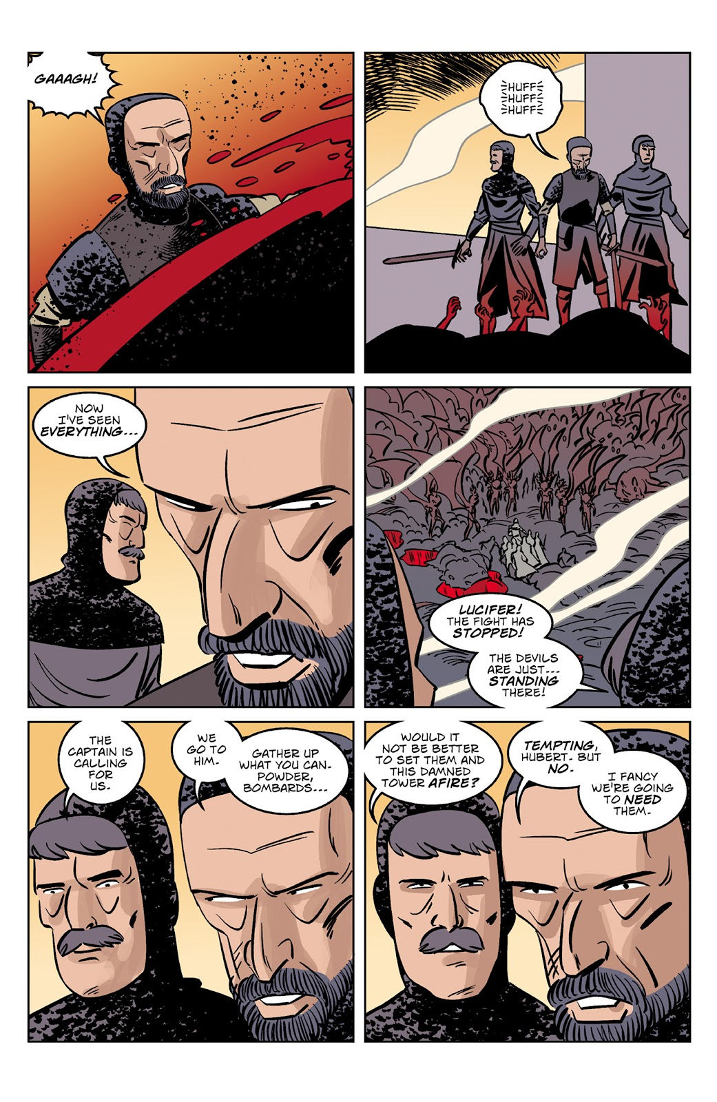 Read online Dark Ages comic -  Issue #4 - 17