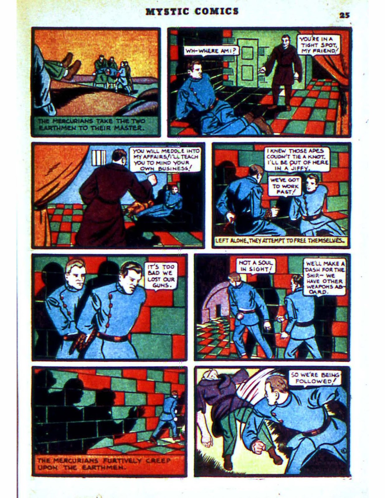Mystic Comics (1940) issue 2 - Page 27