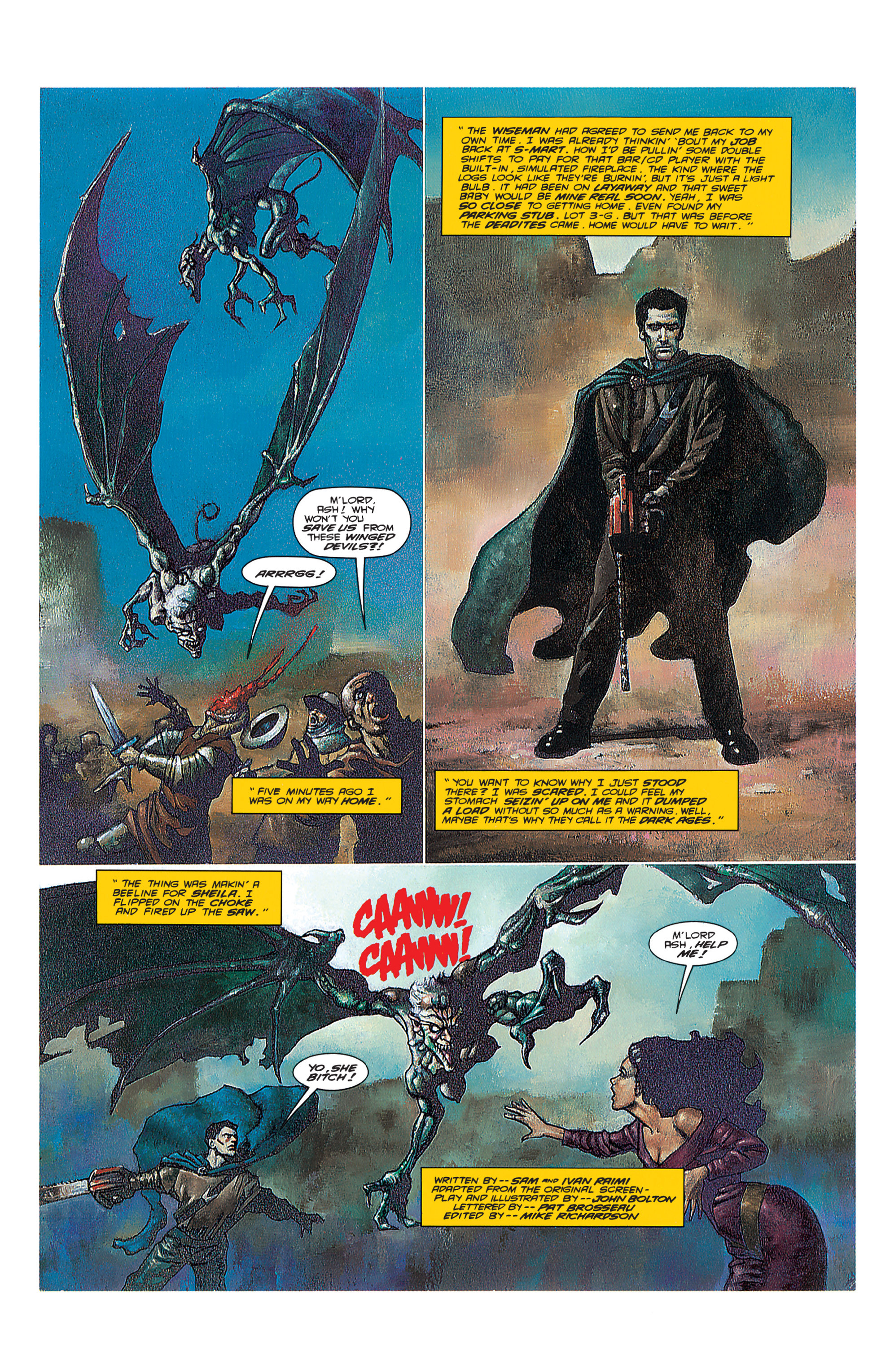 Read online Army of Darkness (1992) comic -  Issue #3 - 3