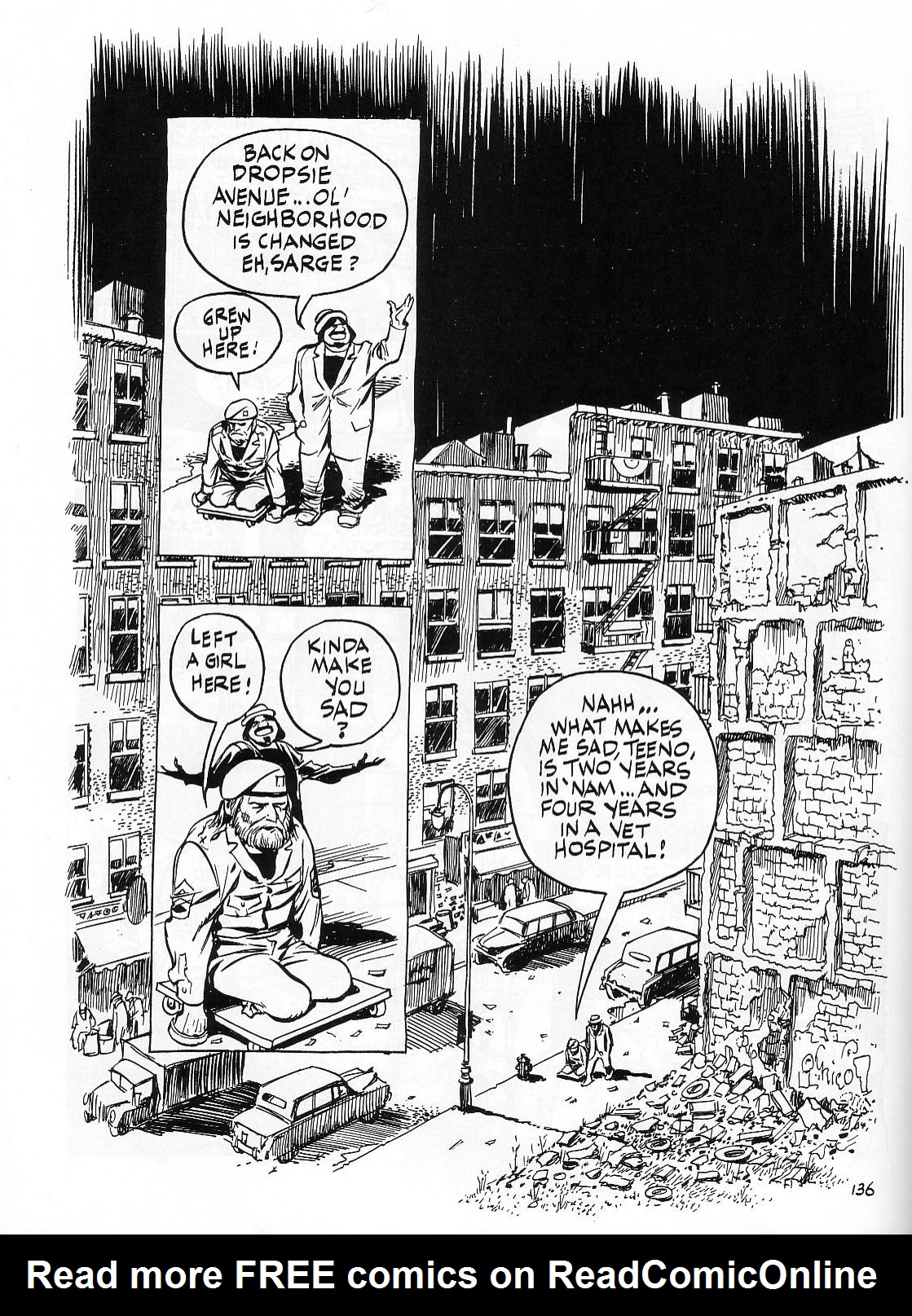 Read online Dropsie Avenue, The Neighborhood comic -  Issue # Full - 138