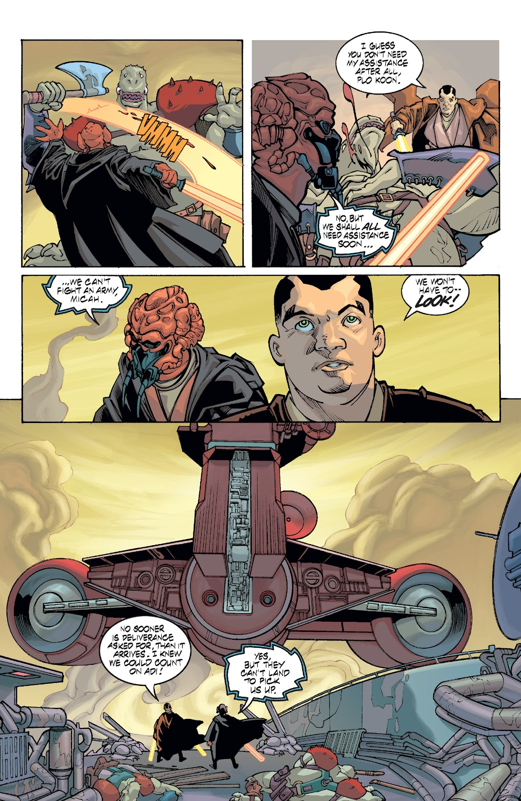 Read online Star Wars Legends: Rise of the Sith - Epic Collection comic -  Issue # TPB 1 (Part 5) - 19