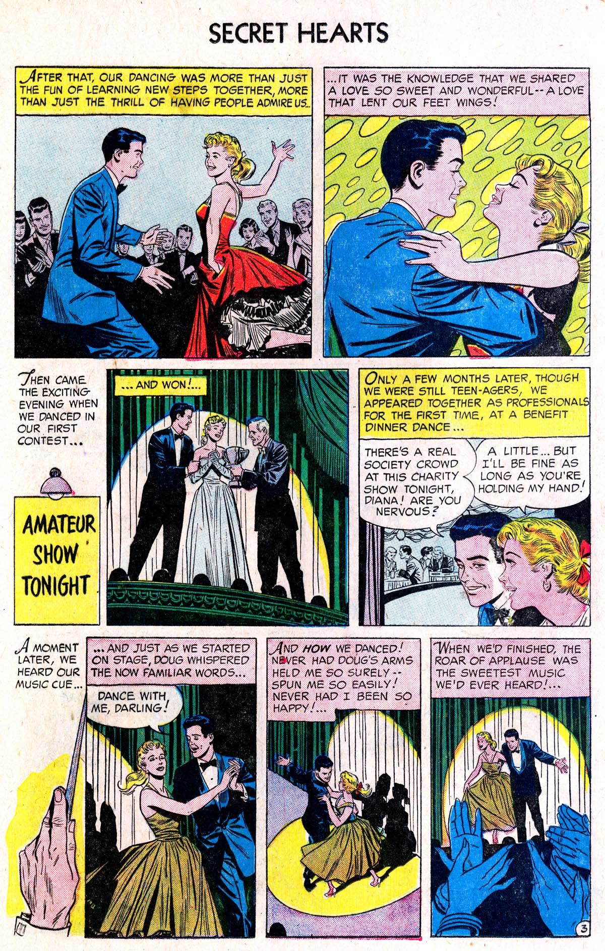 Read online Secret Hearts comic -  Issue #38 - 12
