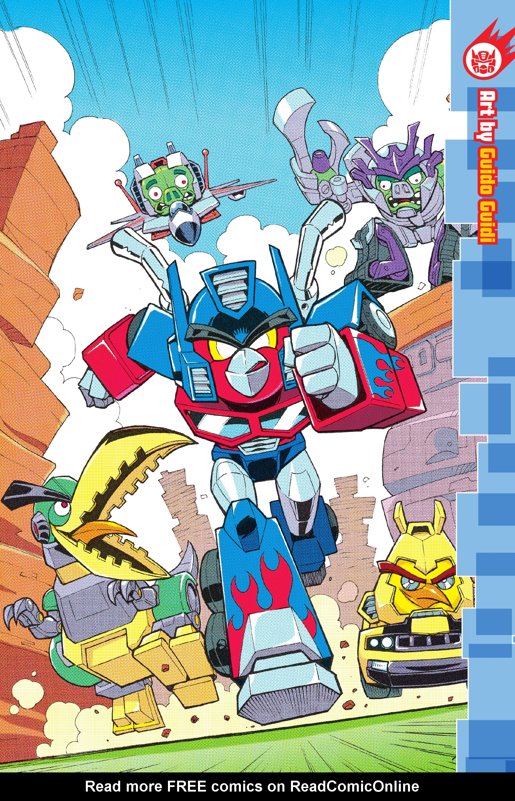 Read online Angry Birds Transformers: Age of Eggstinction comic -  Issue # Full - 91