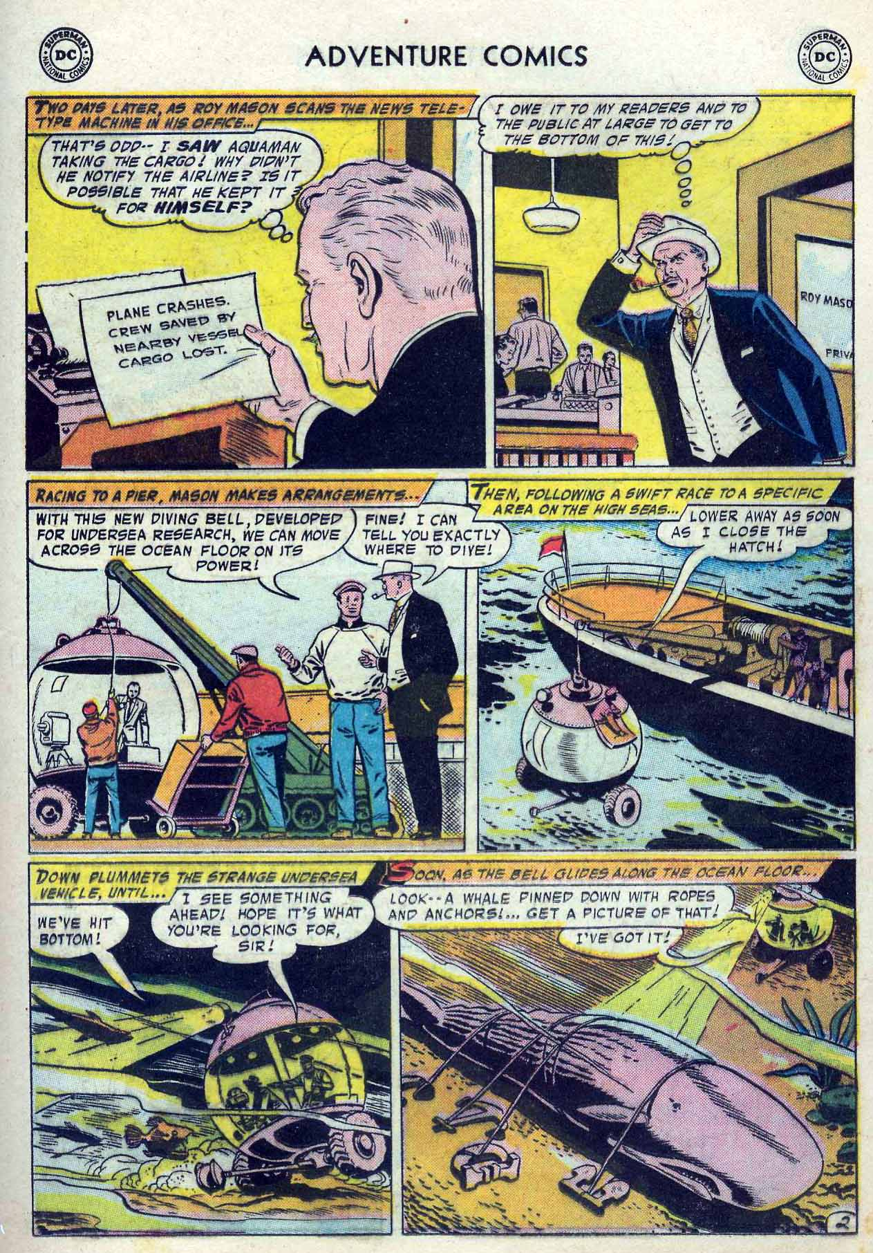 Read online Adventure Comics (1938) comic -  Issue #237 - 19