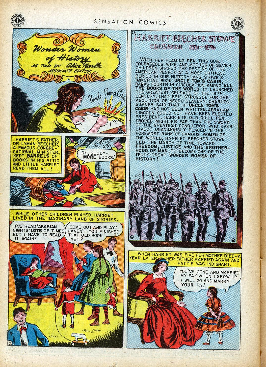 Read online Sensation (Mystery) Comics comic -  Issue #40 - 38