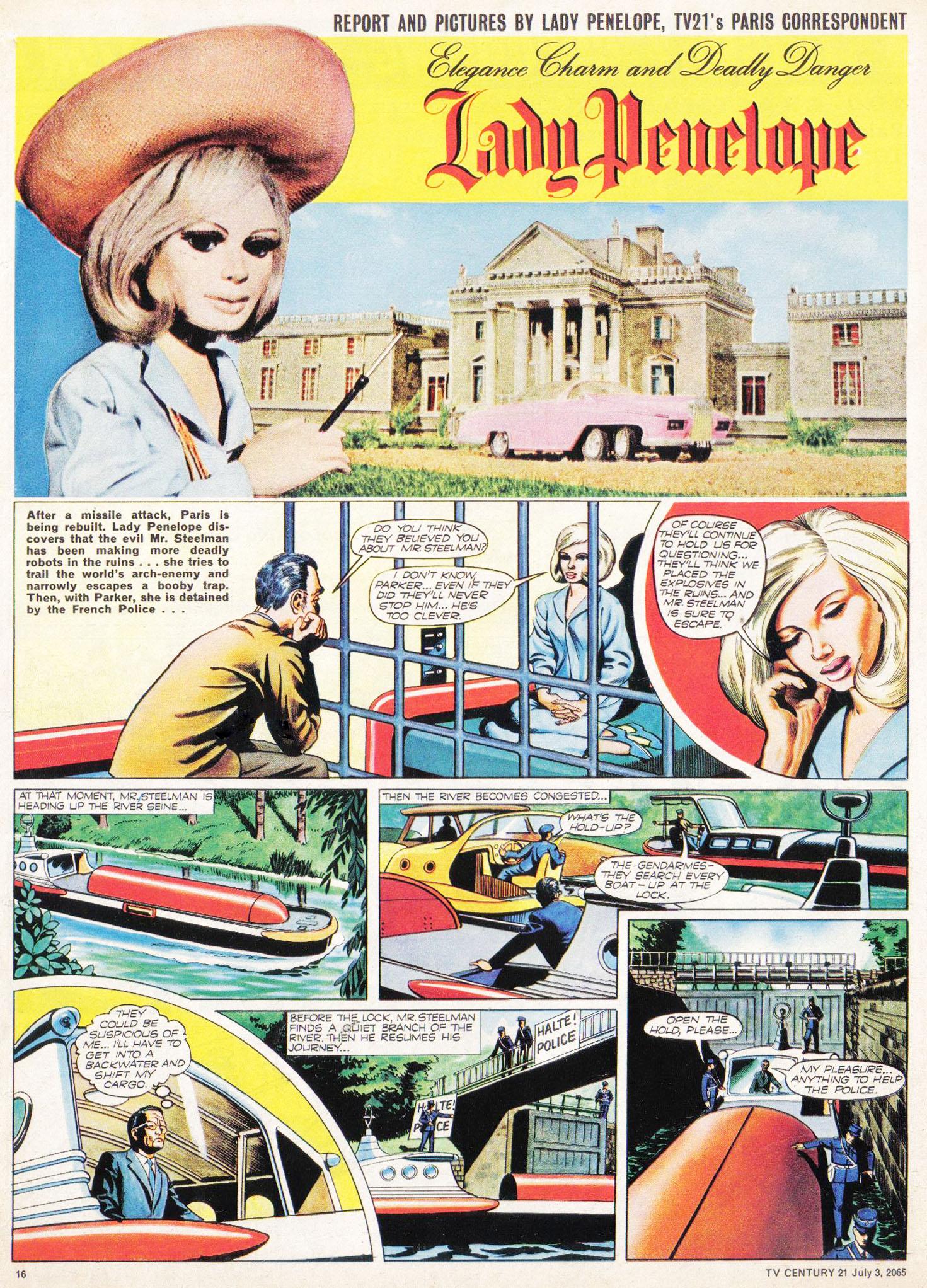 Read online TV Century 21 (TV 21) comic -  Issue #24 - 15