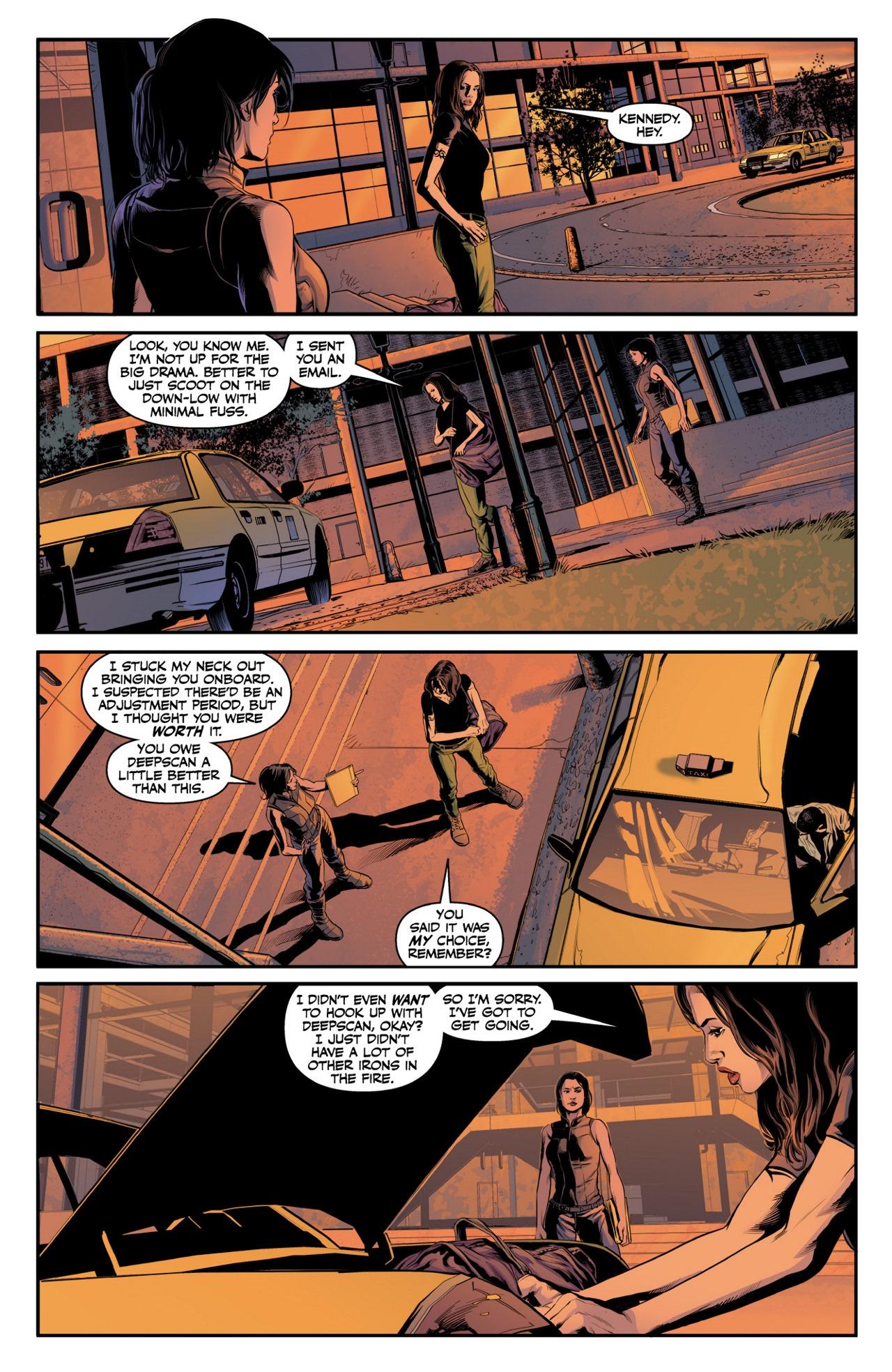 Read online Angel & Faith Season 10 comic -  Issue #4 - 19