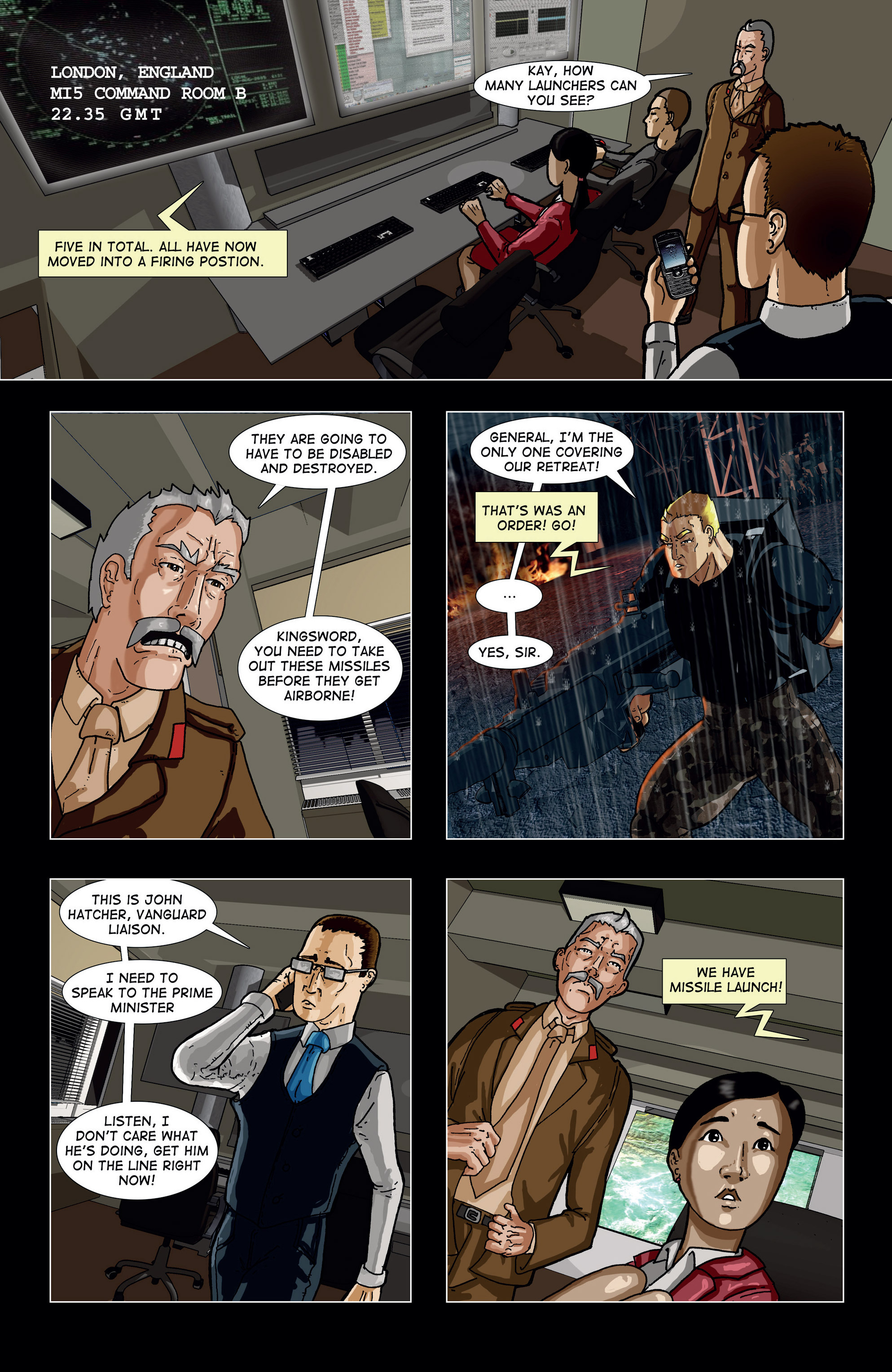 Read online Vanguard (2015) comic -  Issue #2 - 21