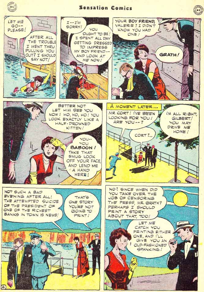Read online Sensation (Mystery) Comics comic -  Issue #90 - 42