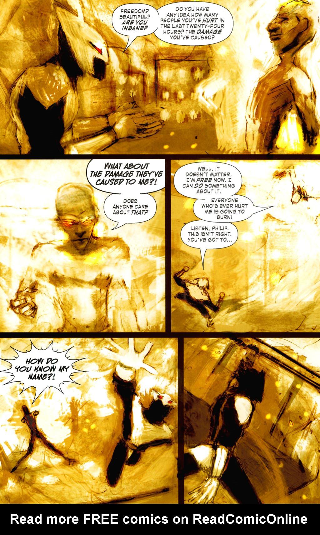Read online ShadowHawk (2005) comic -  Issue #8 - 15