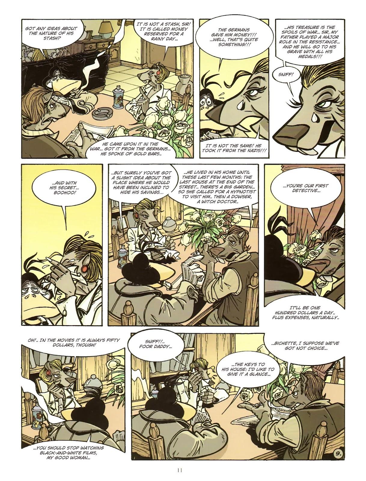 Une enquête de l'inspecteur Canardo issue 11 - Page 12