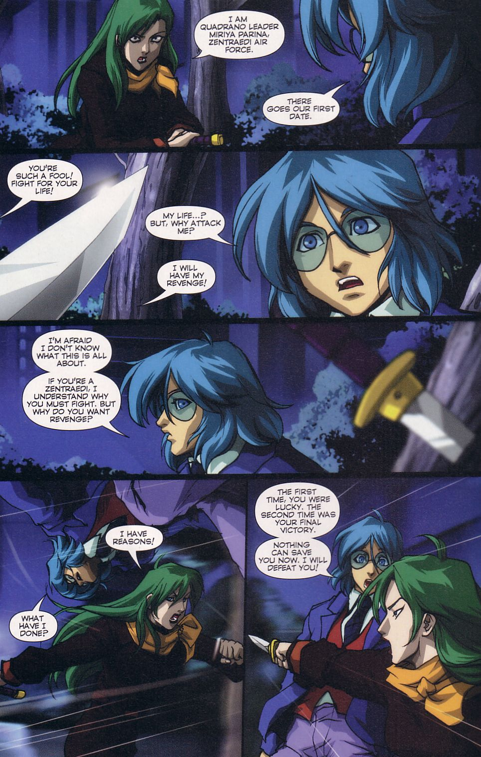Read online Robotech: Love and War comic -  Issue #6 - 4