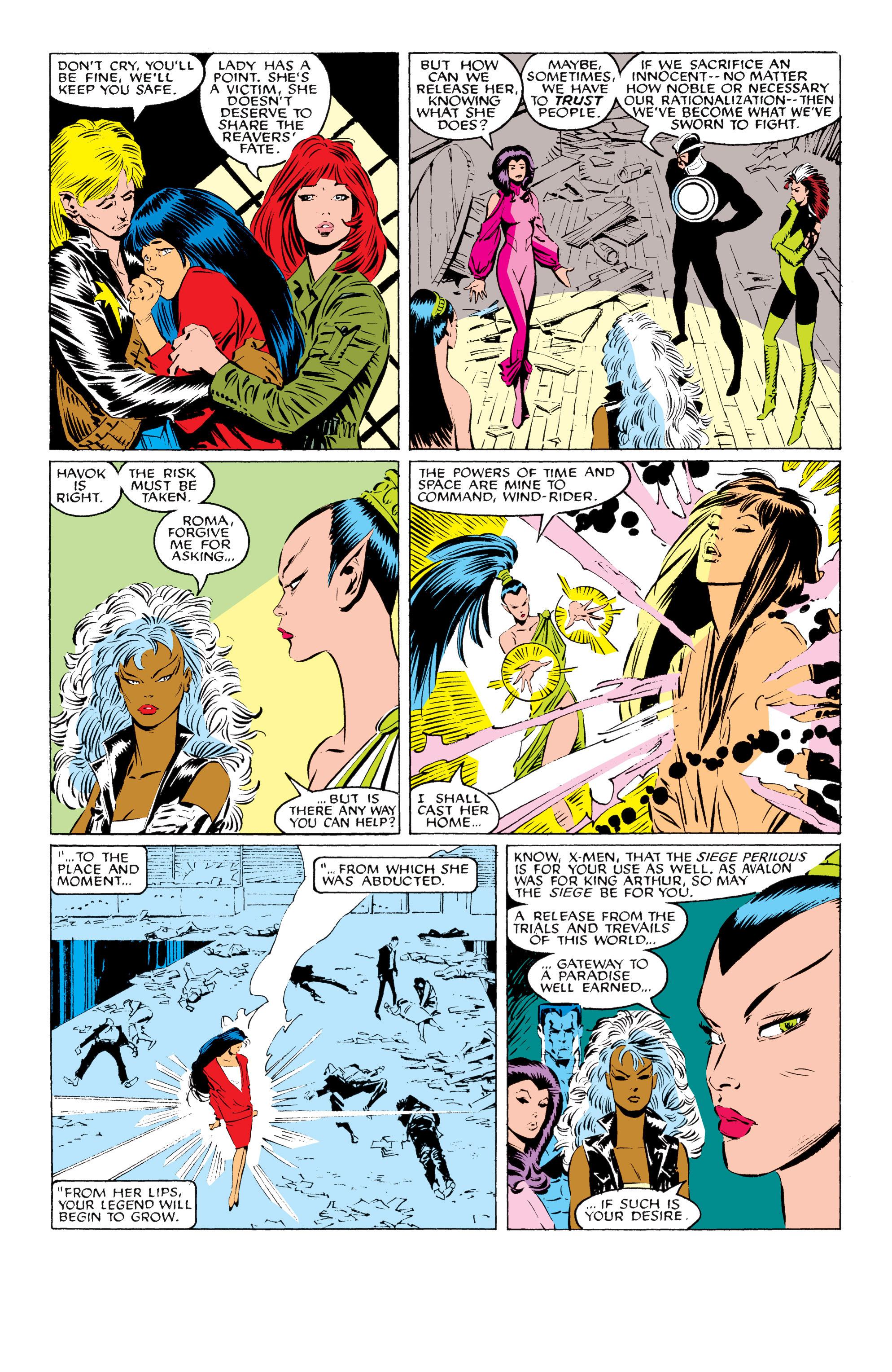 Read online Uncanny X-Men (1963) comic -  Issue #229 - 21