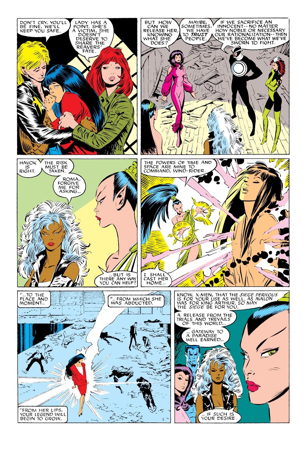 Uncanny X-Men (1963) issue 229 - Page 21
