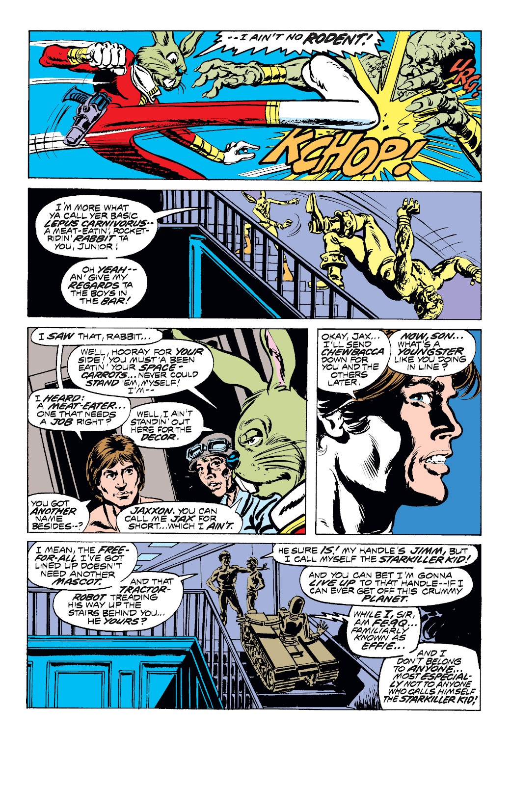 Read online Star Wars Legends: The Original Marvel Years - Epic Collection comic -  Issue # TPB 1 (Part 2) - 46