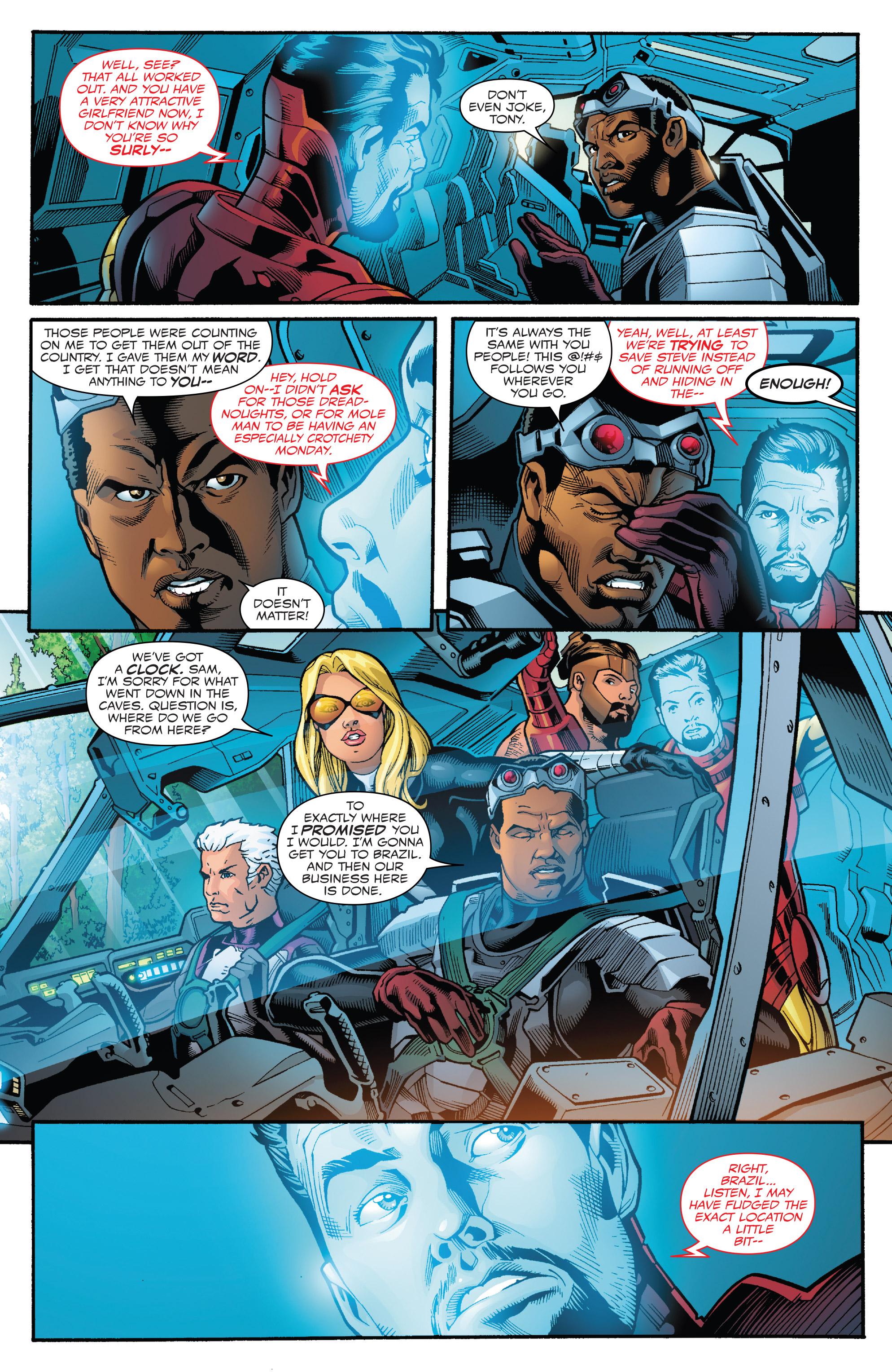 Read online Captain America: Sam Wilson comic -  Issue #23 - 20