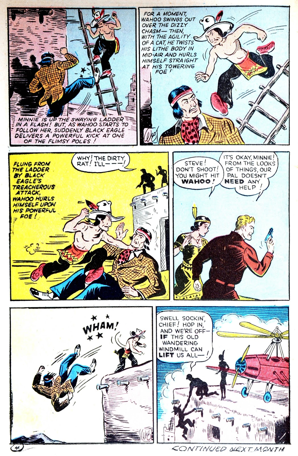 Read online Famous Funnies comic -  Issue #123 - 38