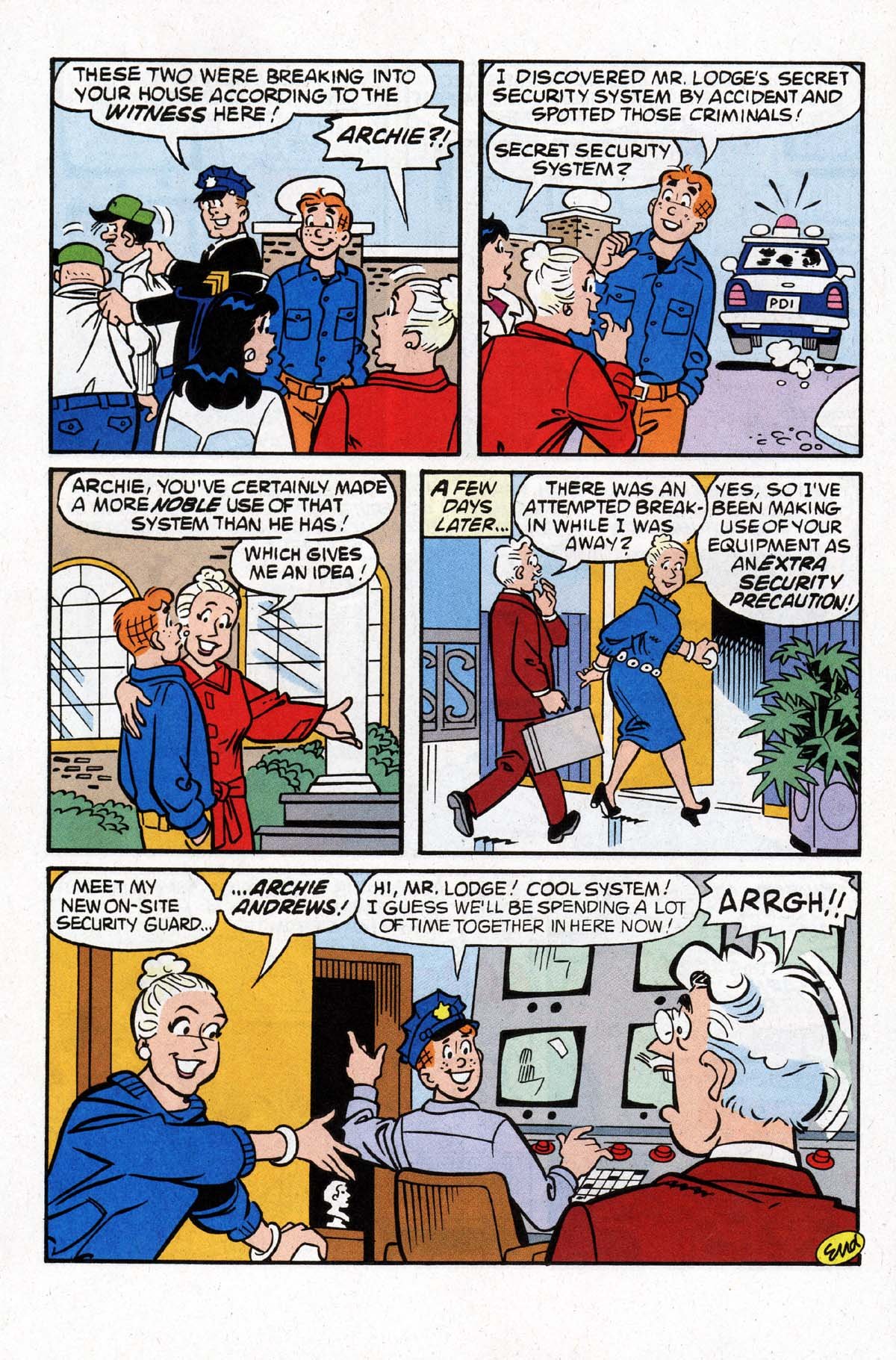 Read online Archie (1960) comic -  Issue #529 - 7
