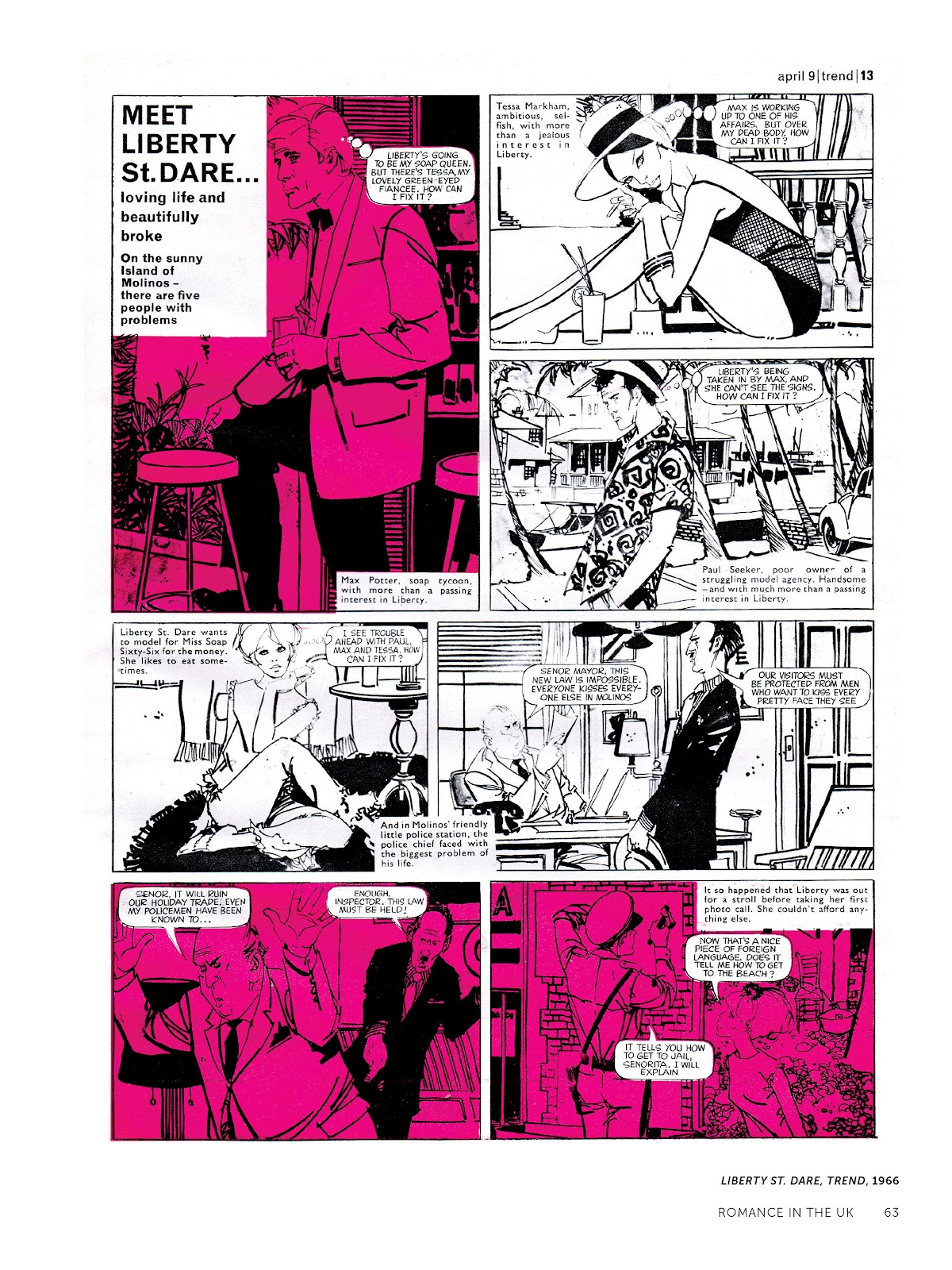Read online The Art of Jose Gonzalez comic -  Issue # TPB (Part 1) - 64