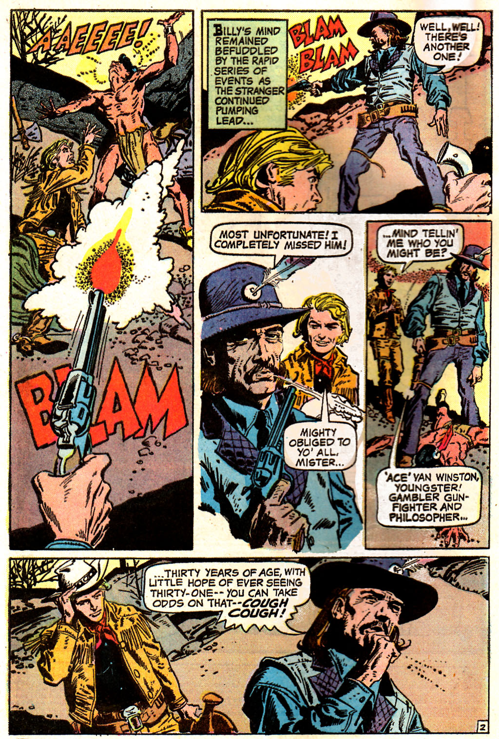 Read online All-Star Western (1970) comic -  Issue #7 - 4