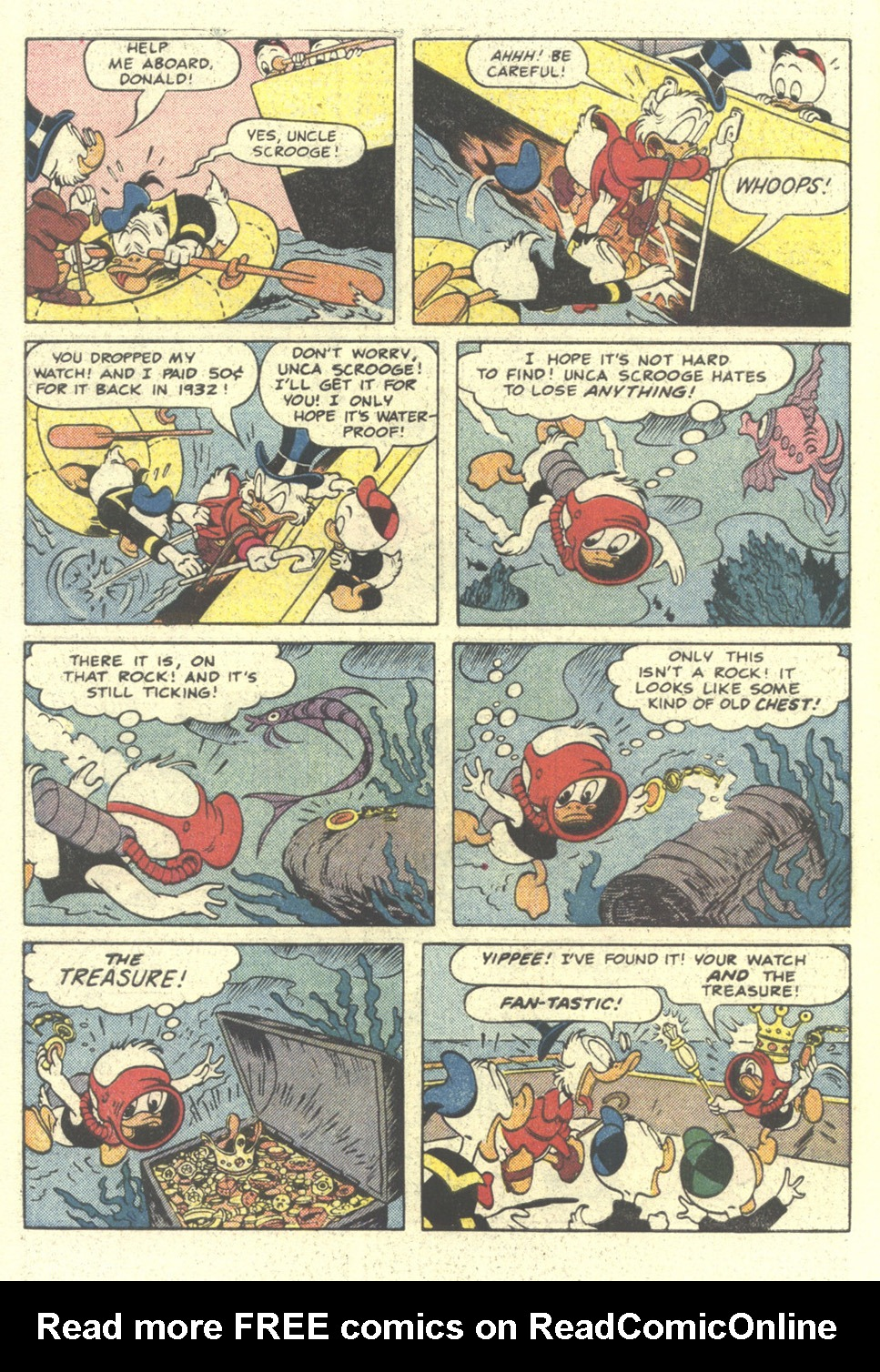 Read online Uncle Scrooge (1953) comic -  Issue #212 - 10