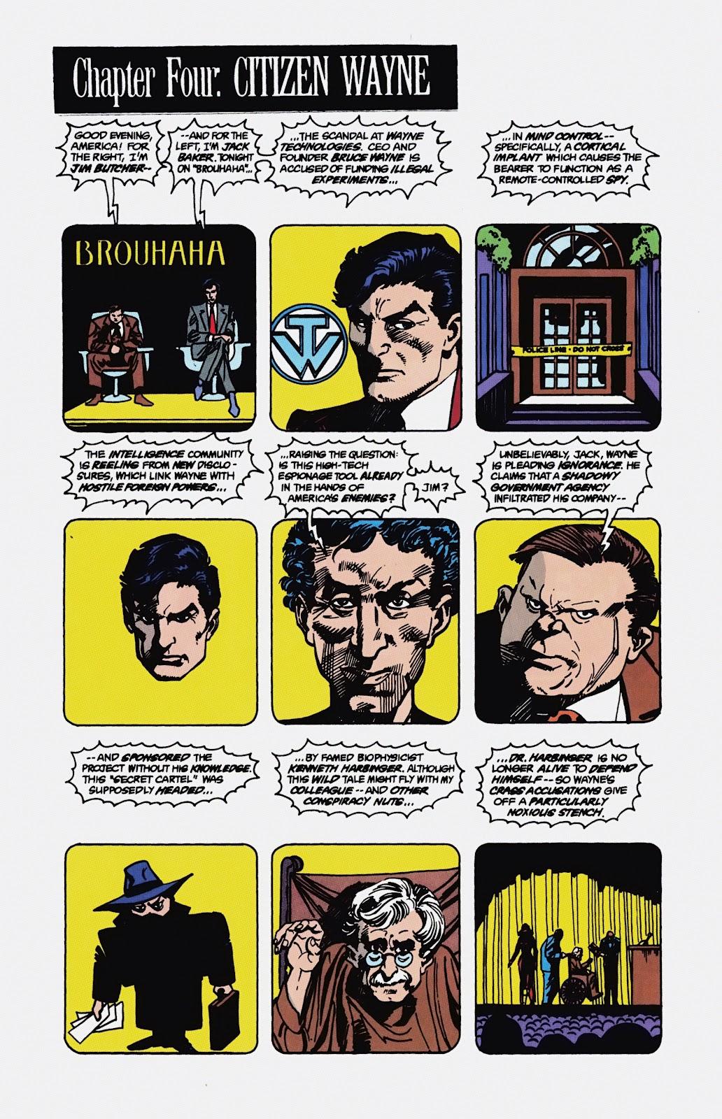 Read online Detective Comics (1937) comic -  Issue # _TPB Batman - Blind Justice (Part 1) - 67