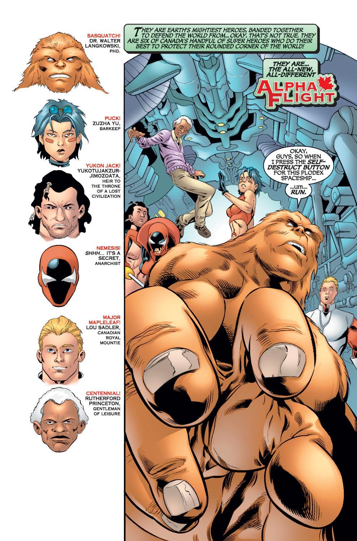 Read online Alpha Flight (2004) comic -  Issue #7 - 3