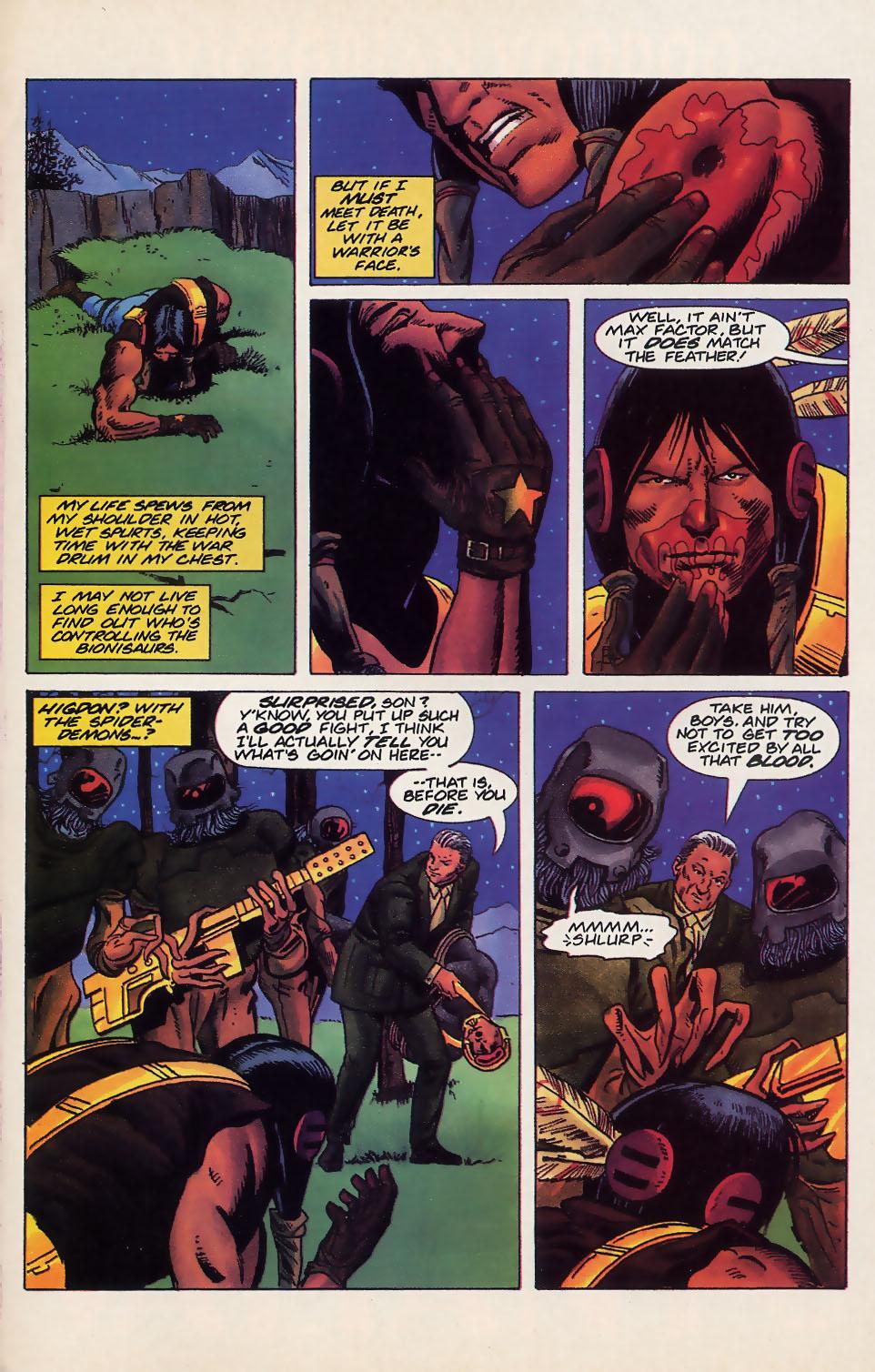 Read online Turok, Dinosaur Hunter (1993) comic -  Issue #18 - 18