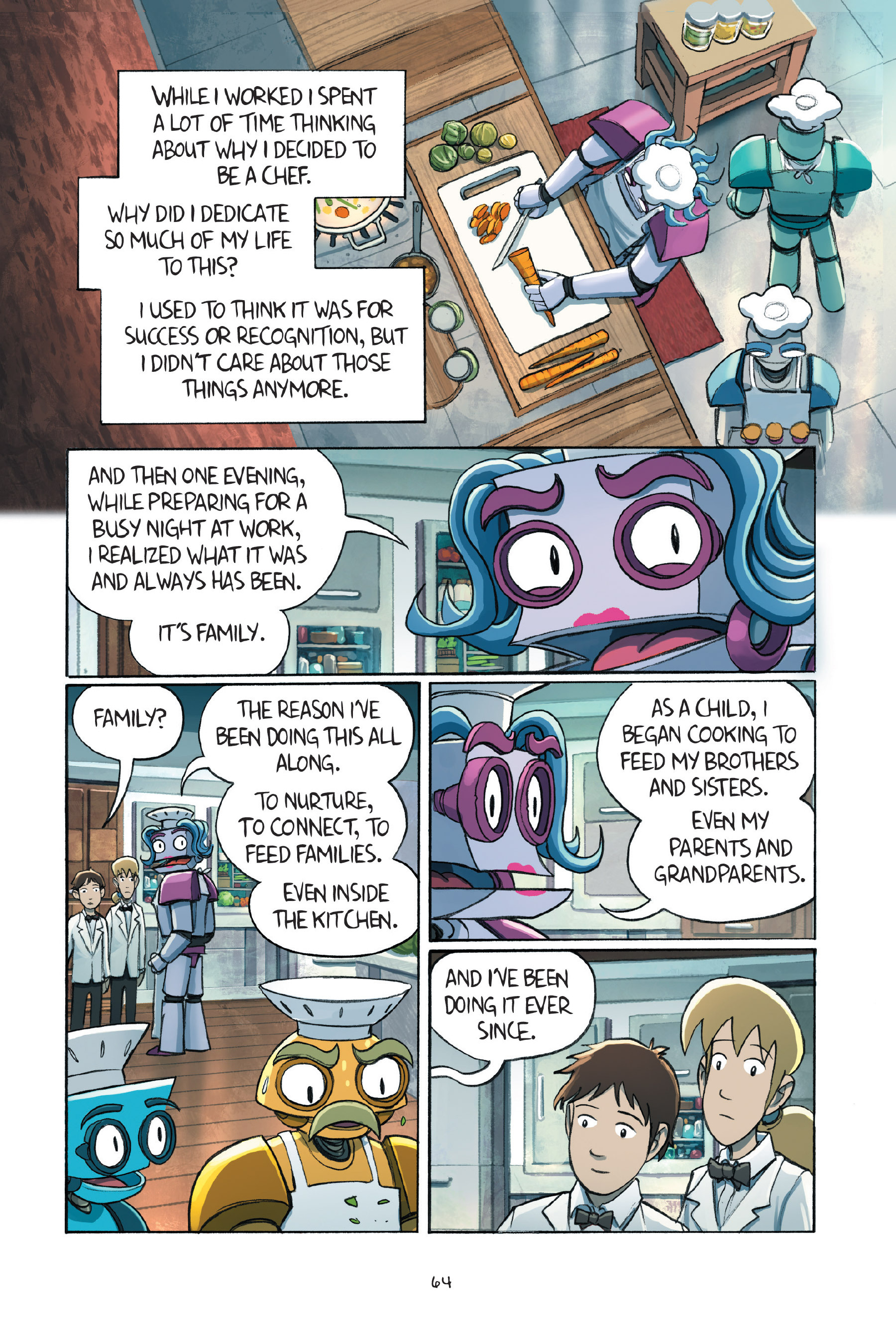 Read online Amulet comic -  Issue #7 - 66