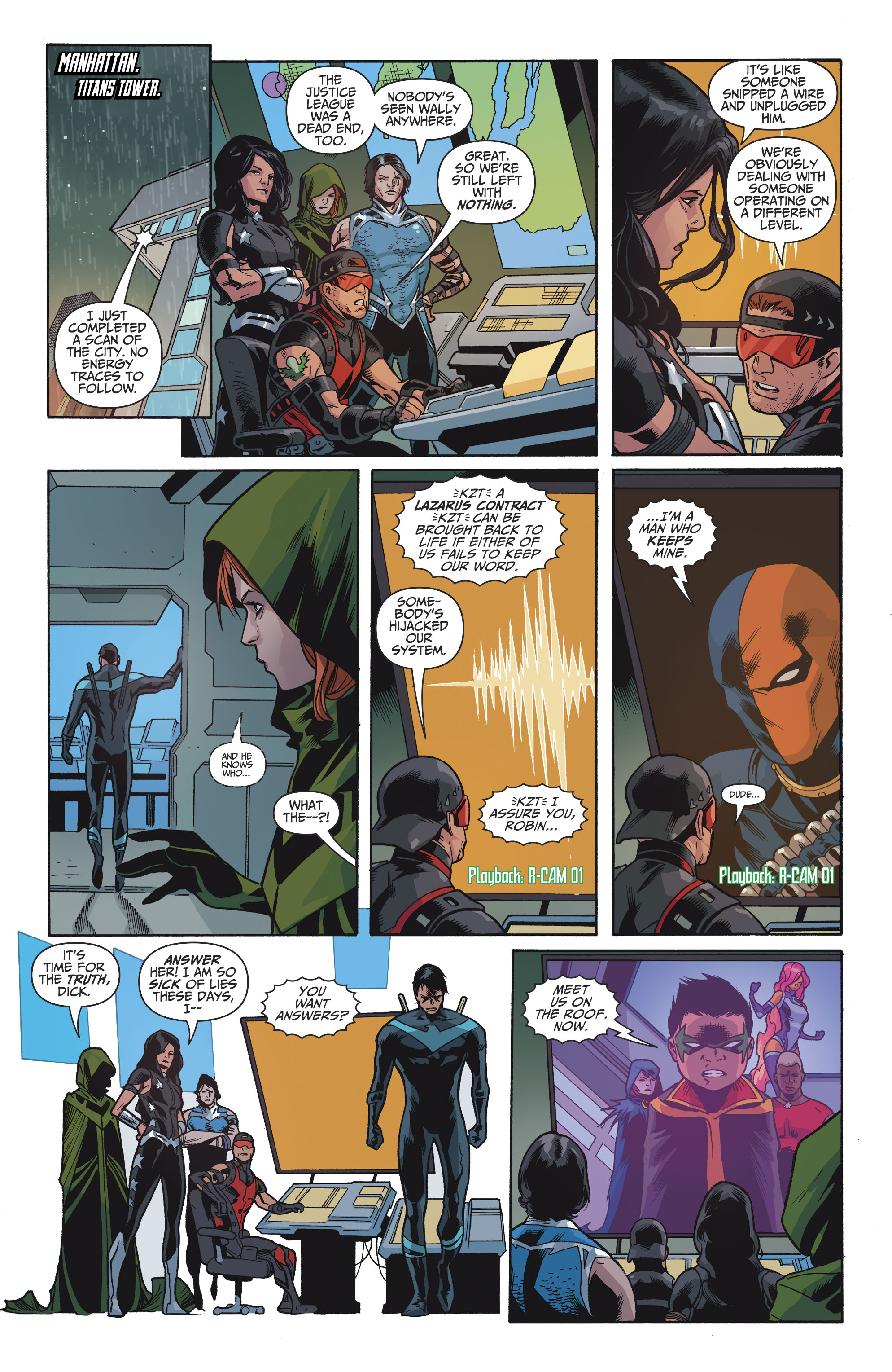 Read online Teen Titans (2016) comic -  Issue #8 - 12