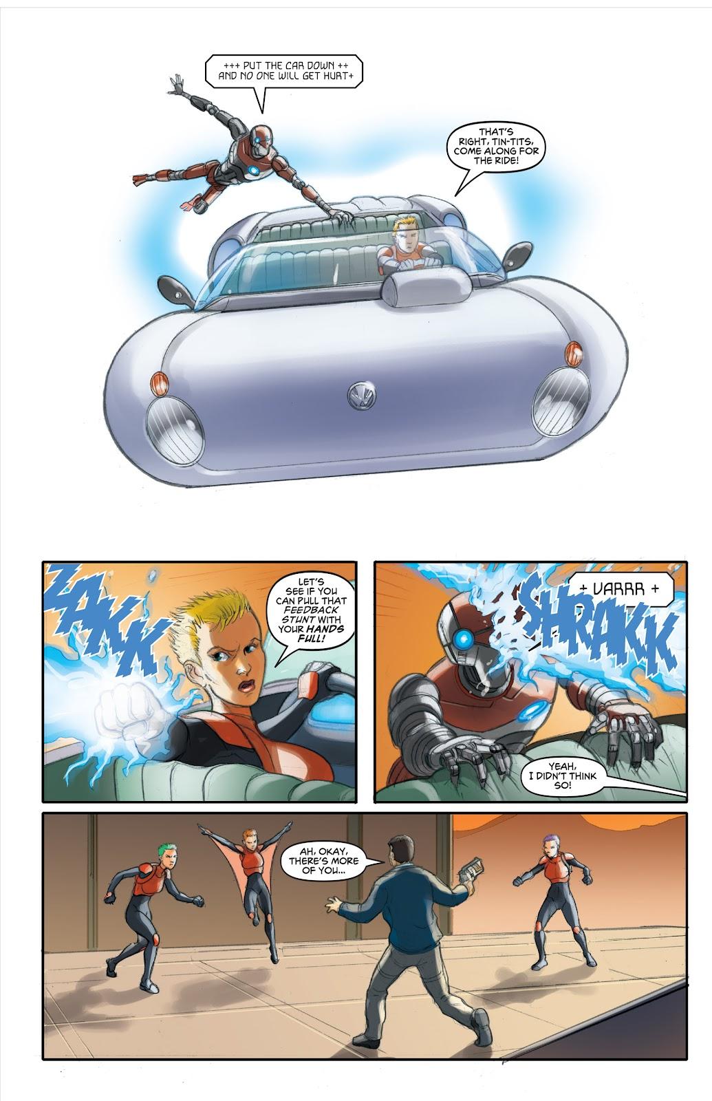 Read online Elephantmen 2261 Season Two: The Pentalion Job comic -  Issue # TPB - 67