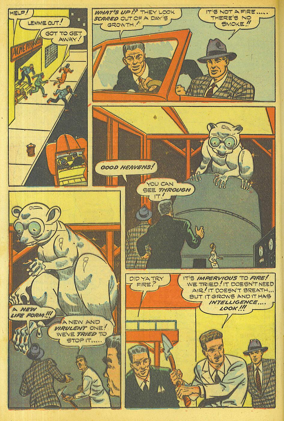 Read online Shadow Comics comic -  Issue #87 - 19