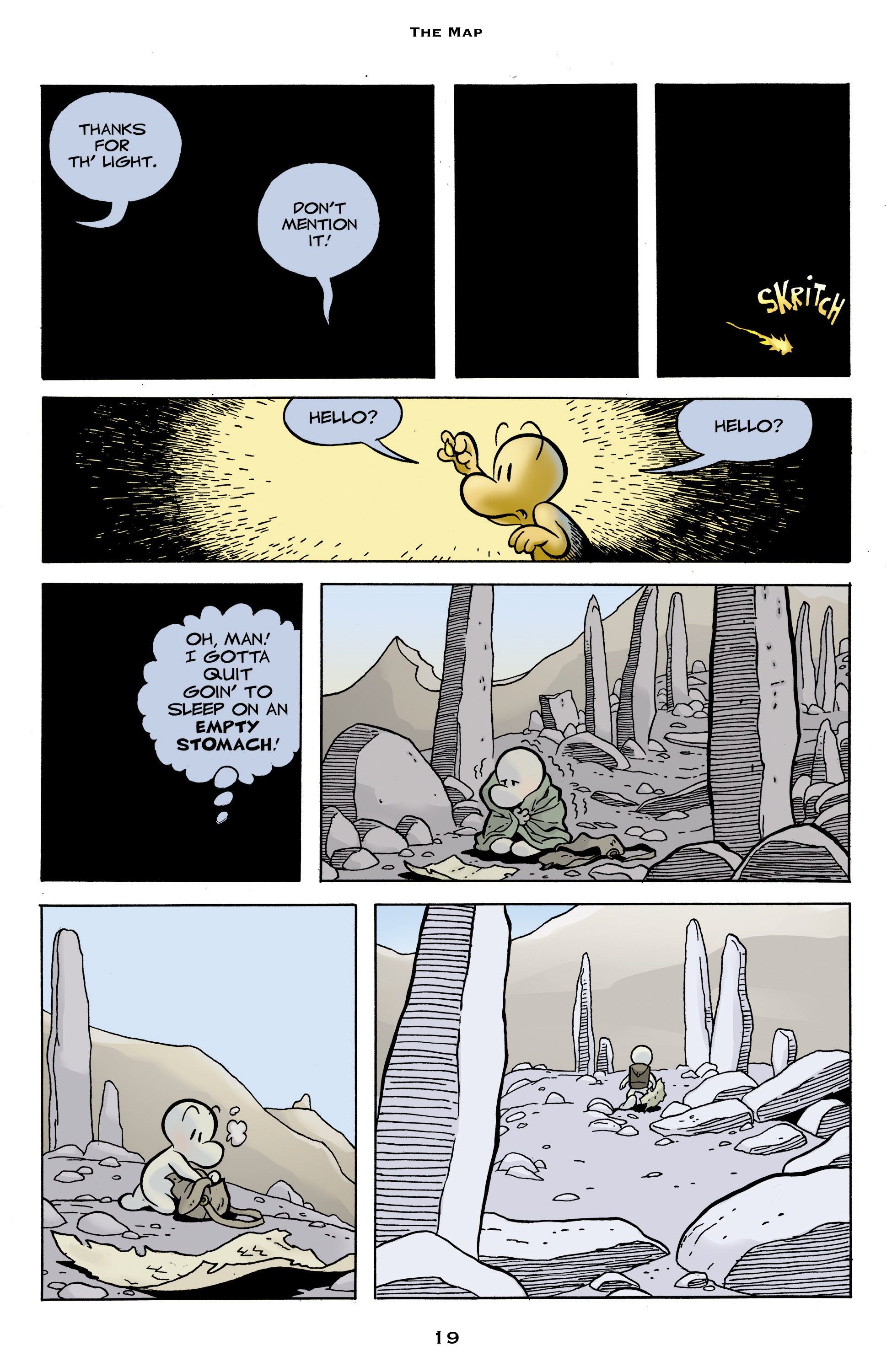 Read online Bone: Out From Boneville comic -  Issue # TPB - 19