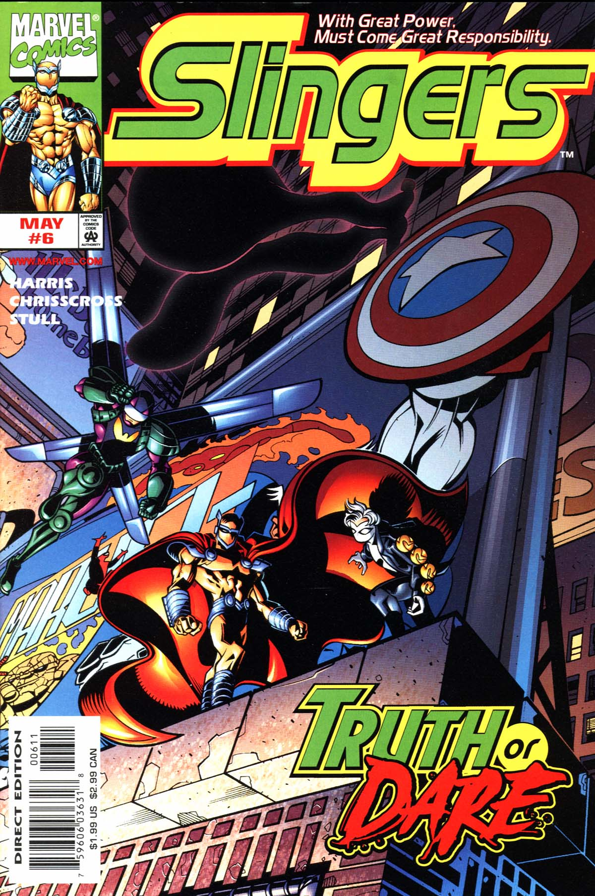 Read online Slingers comic -  Issue #6 - 1