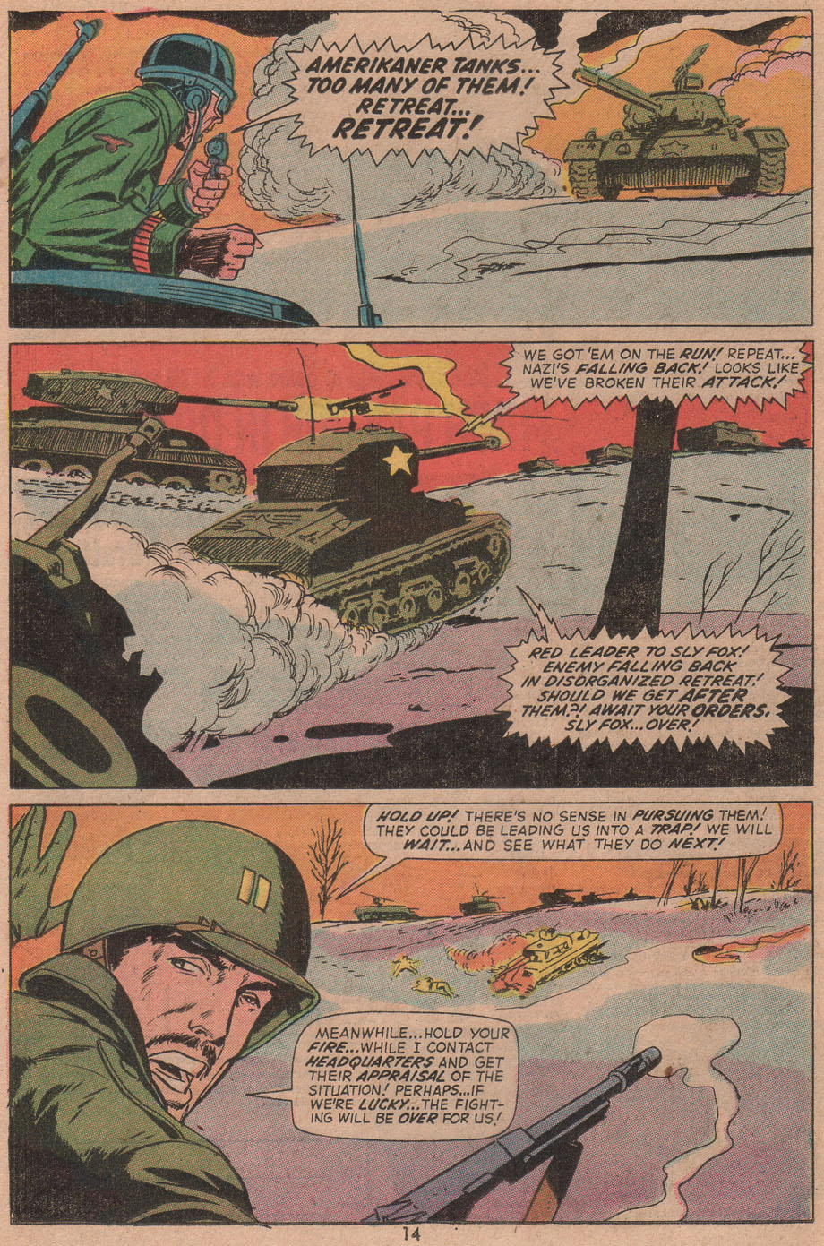 Read online Sgt. Fury comic -  Issue #104 - 16