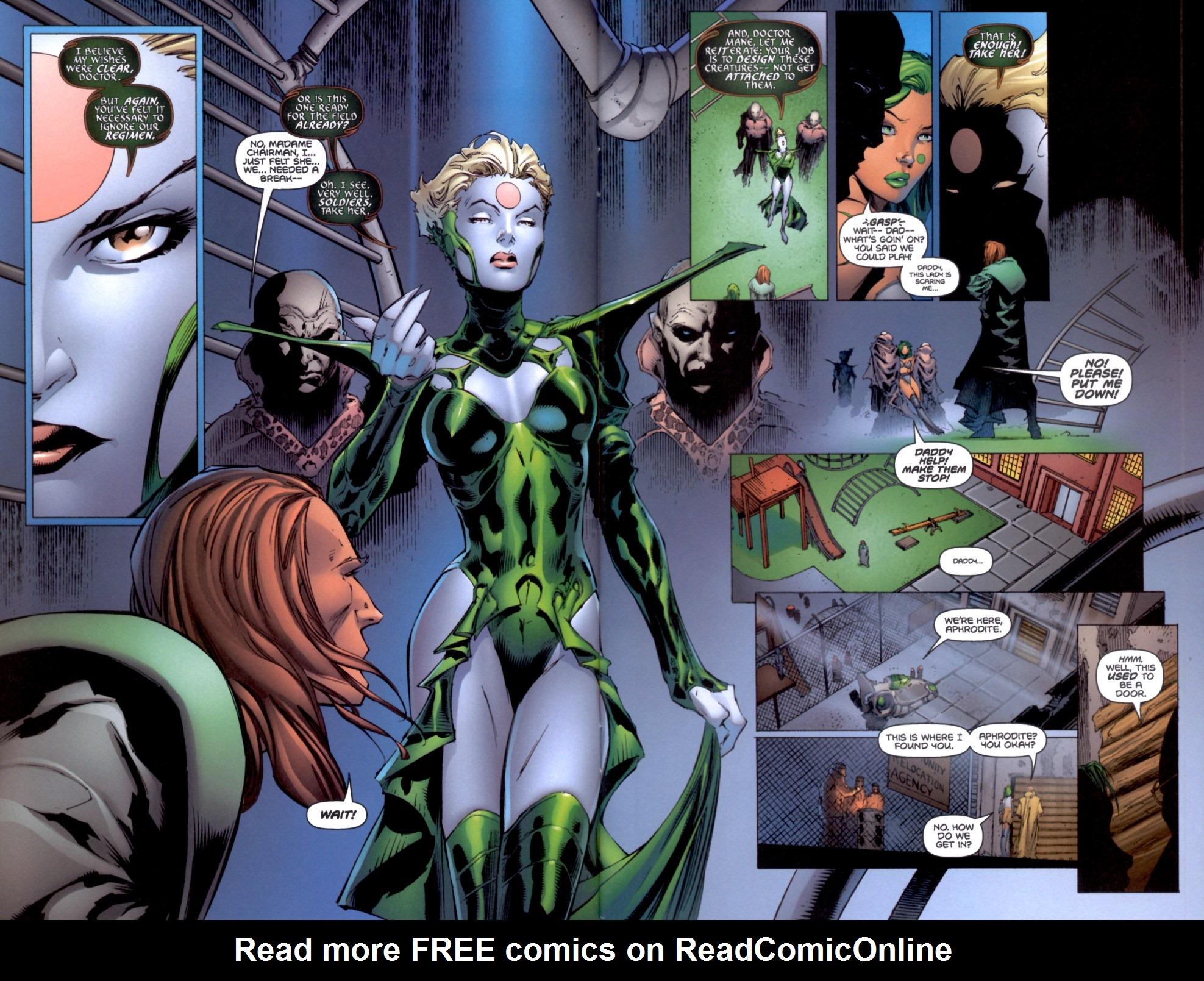 Read online Aphrodite IX (2000) comic -  Issue #4 - 4