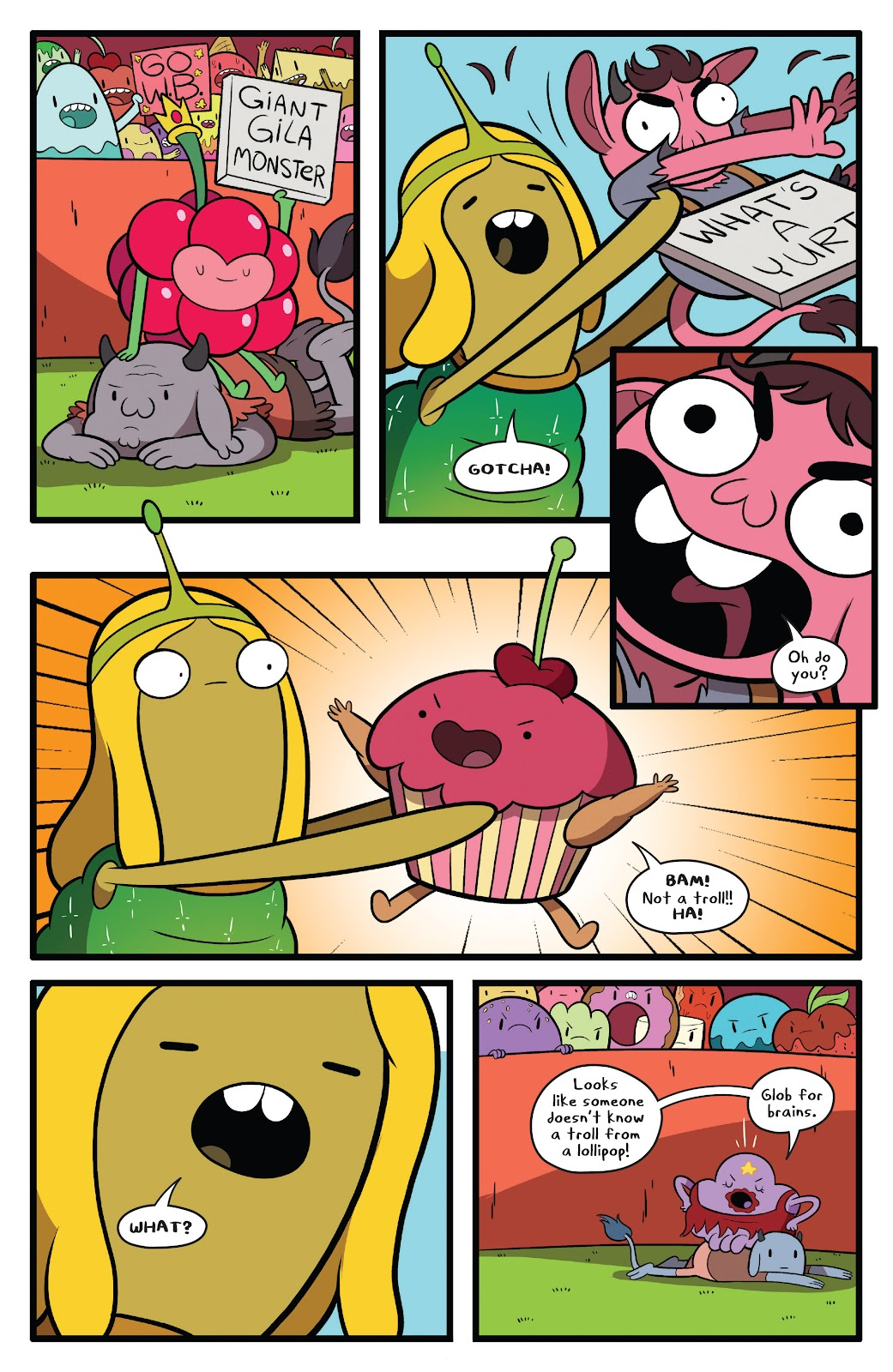 Read online Adventure Time comic -  Issue #63 - 18