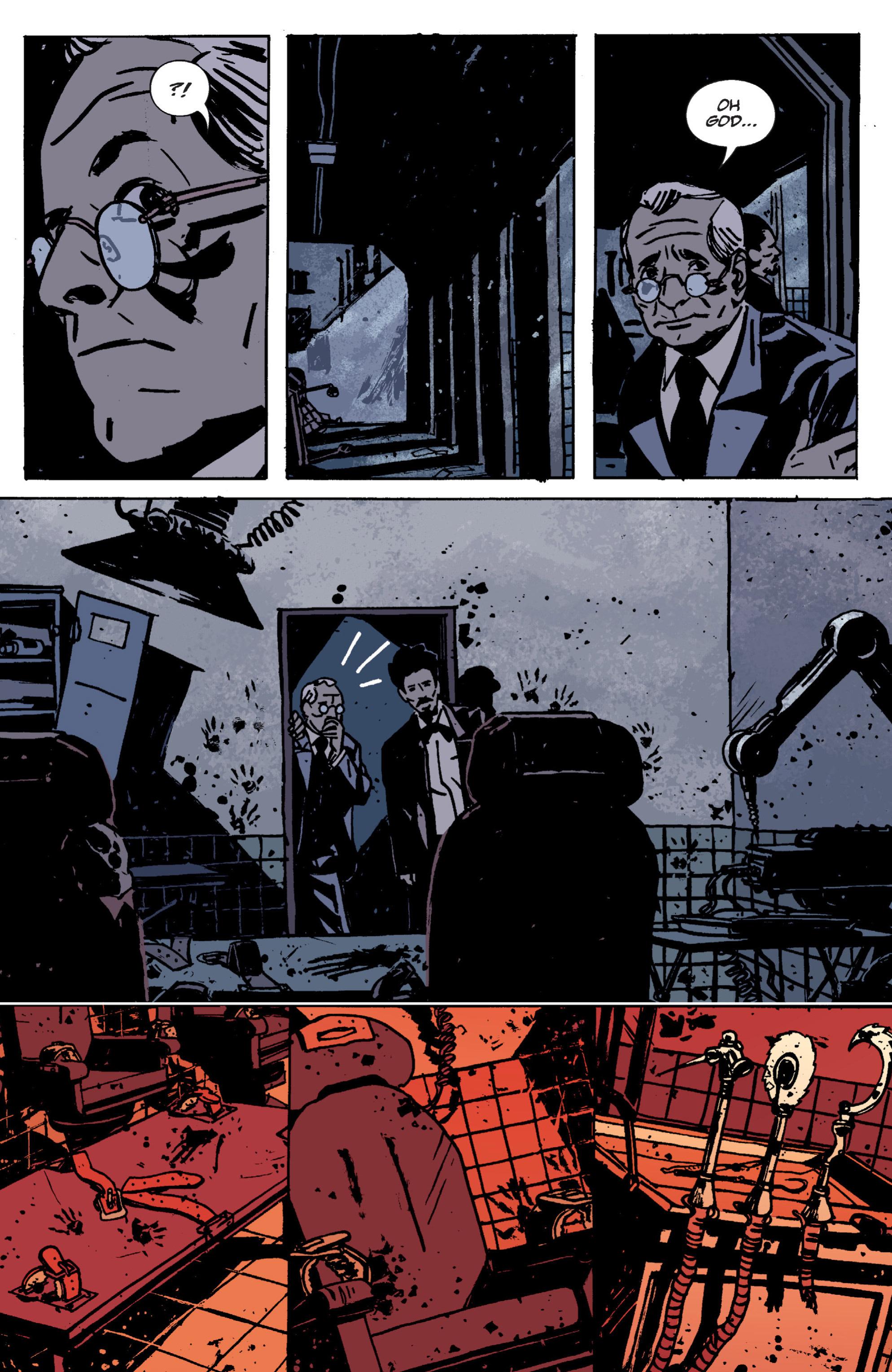 Read online B.P.R.D. (2003) comic -  Issue # TPB 9 - 29