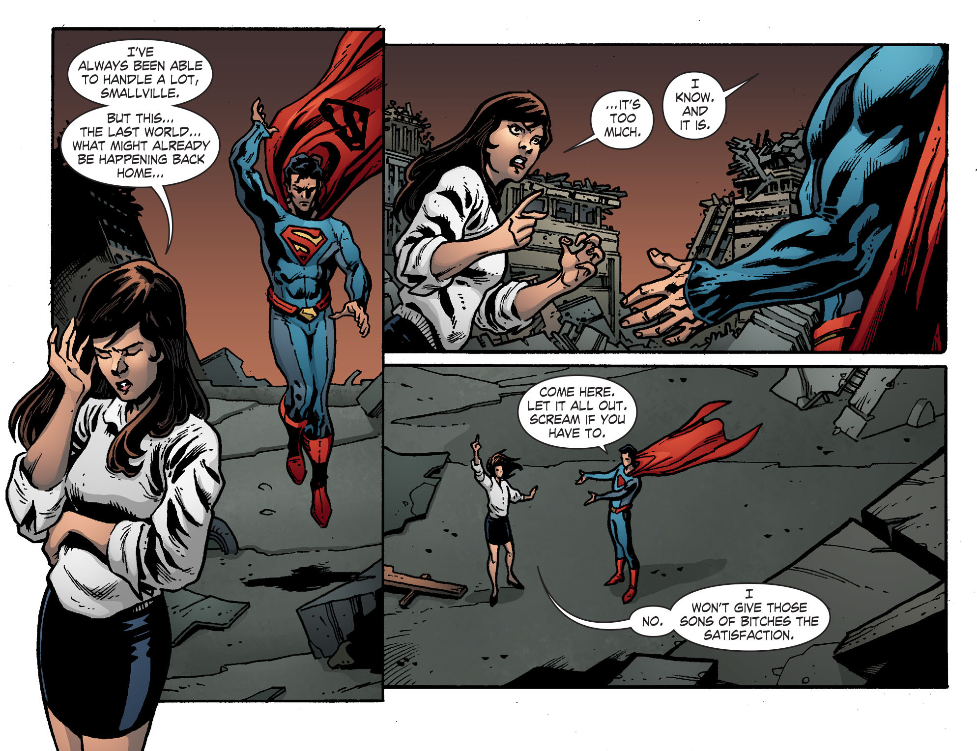 Read online Smallville: Chaos [II] comic -  Issue #7 - 8