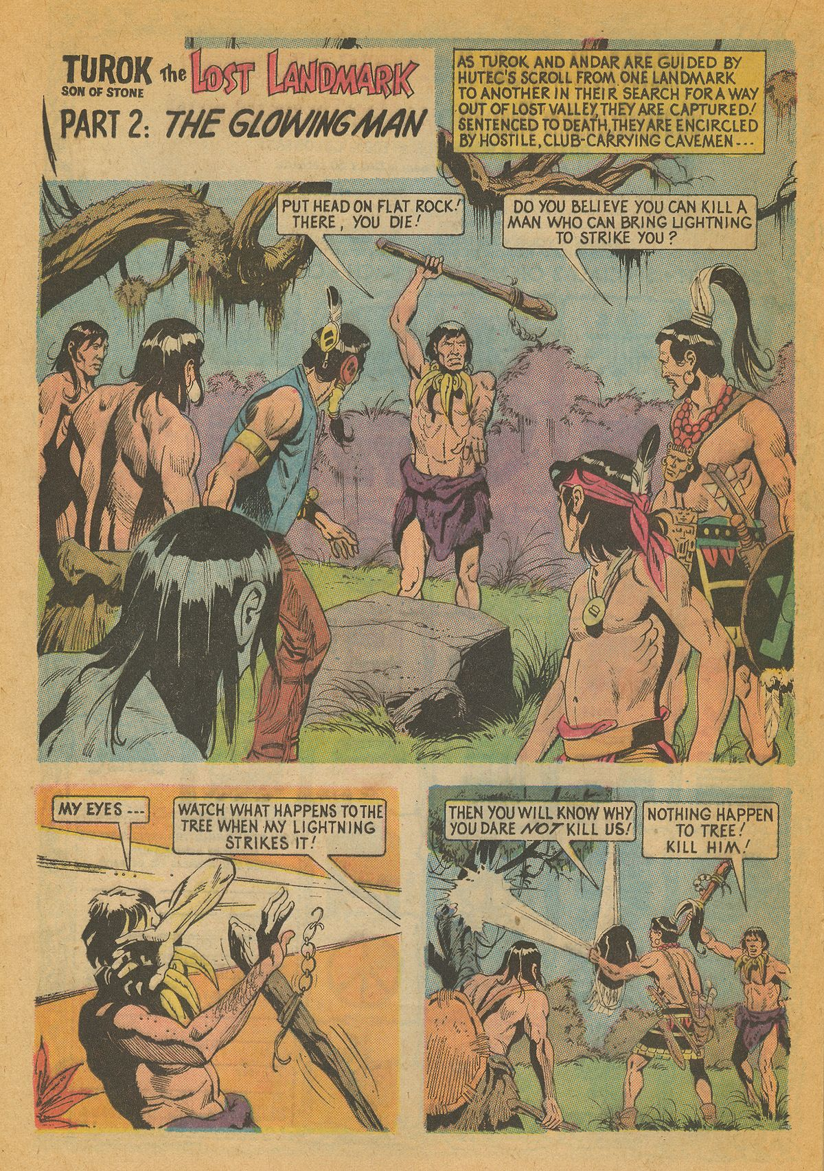 Read online Turok, Son of Stone comic -  Issue #85 - 20